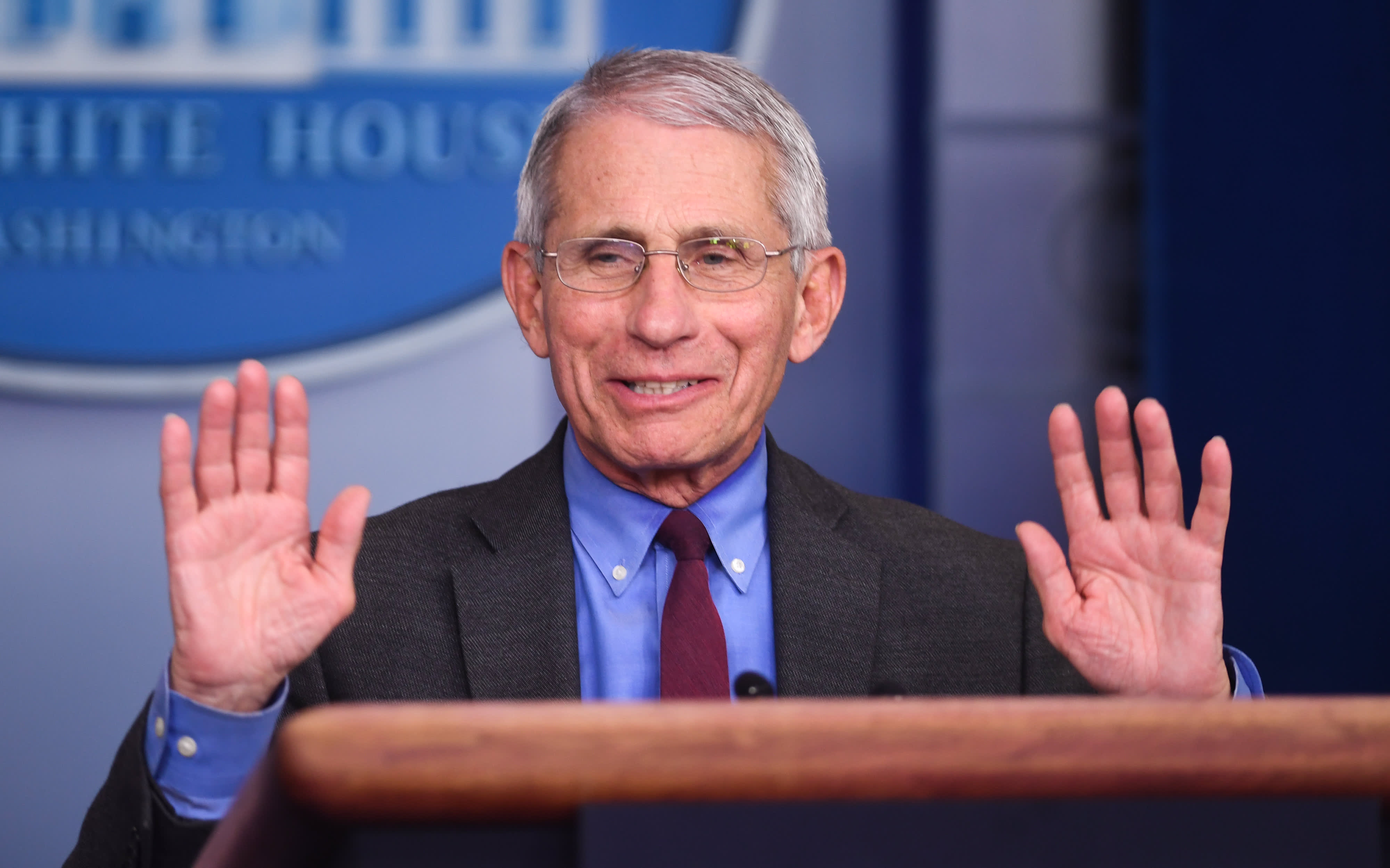 White House advisor Anthony Fauci on keeping up with Covid-19 news