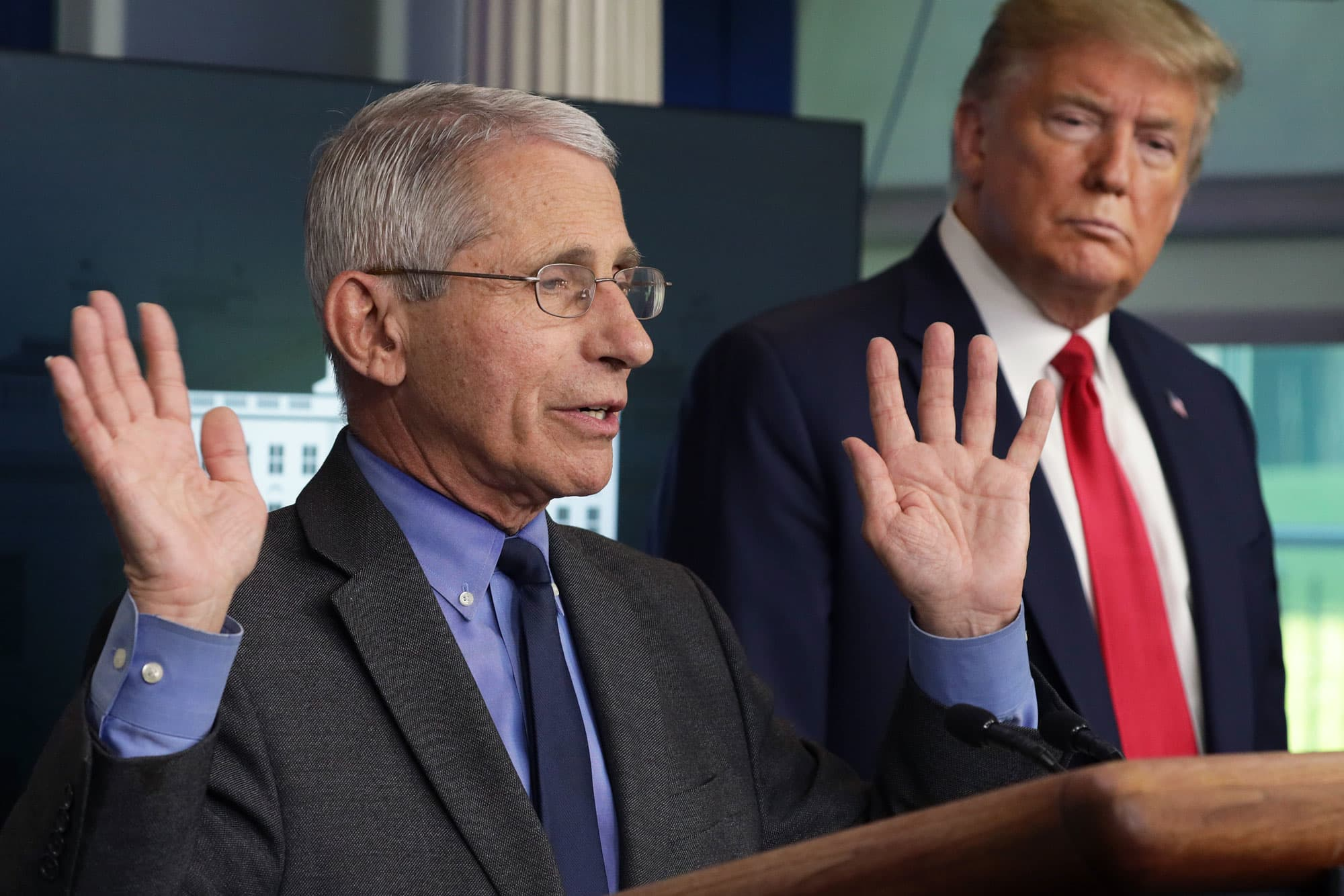 Fauci warns US could 'be in for a bad fall' if coronavirus treatments don't work