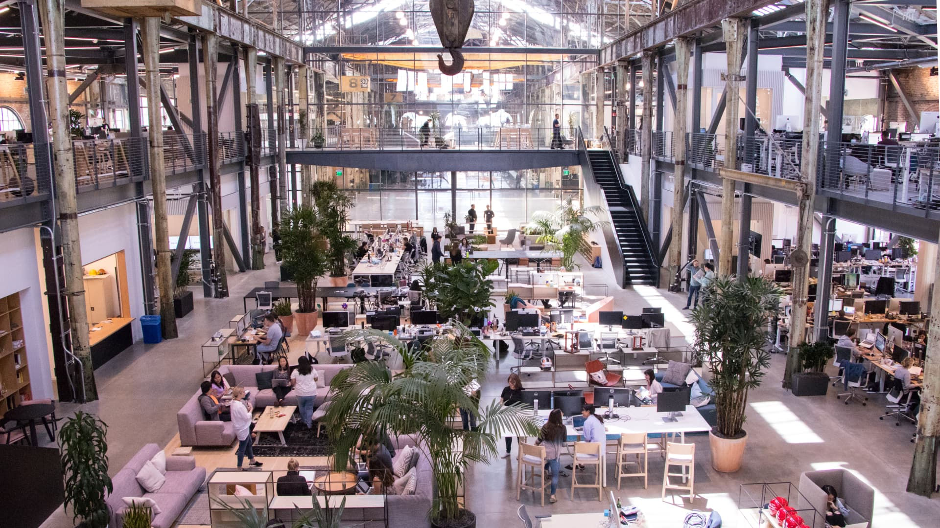 The Gusto headquarters in San Francisco at Pier 70.