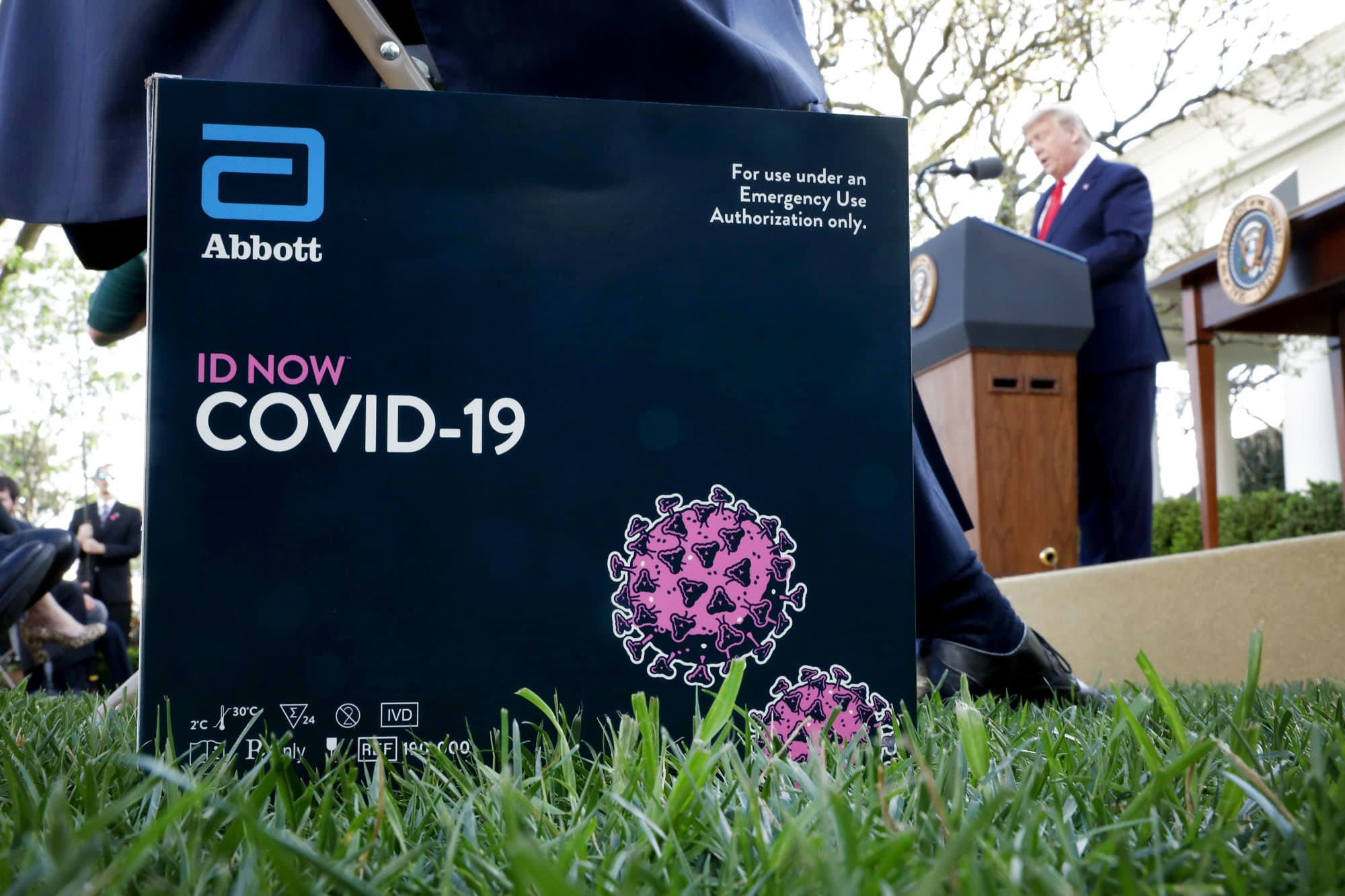 FDA grants emergency use authorization Abbott Labs second antibody test