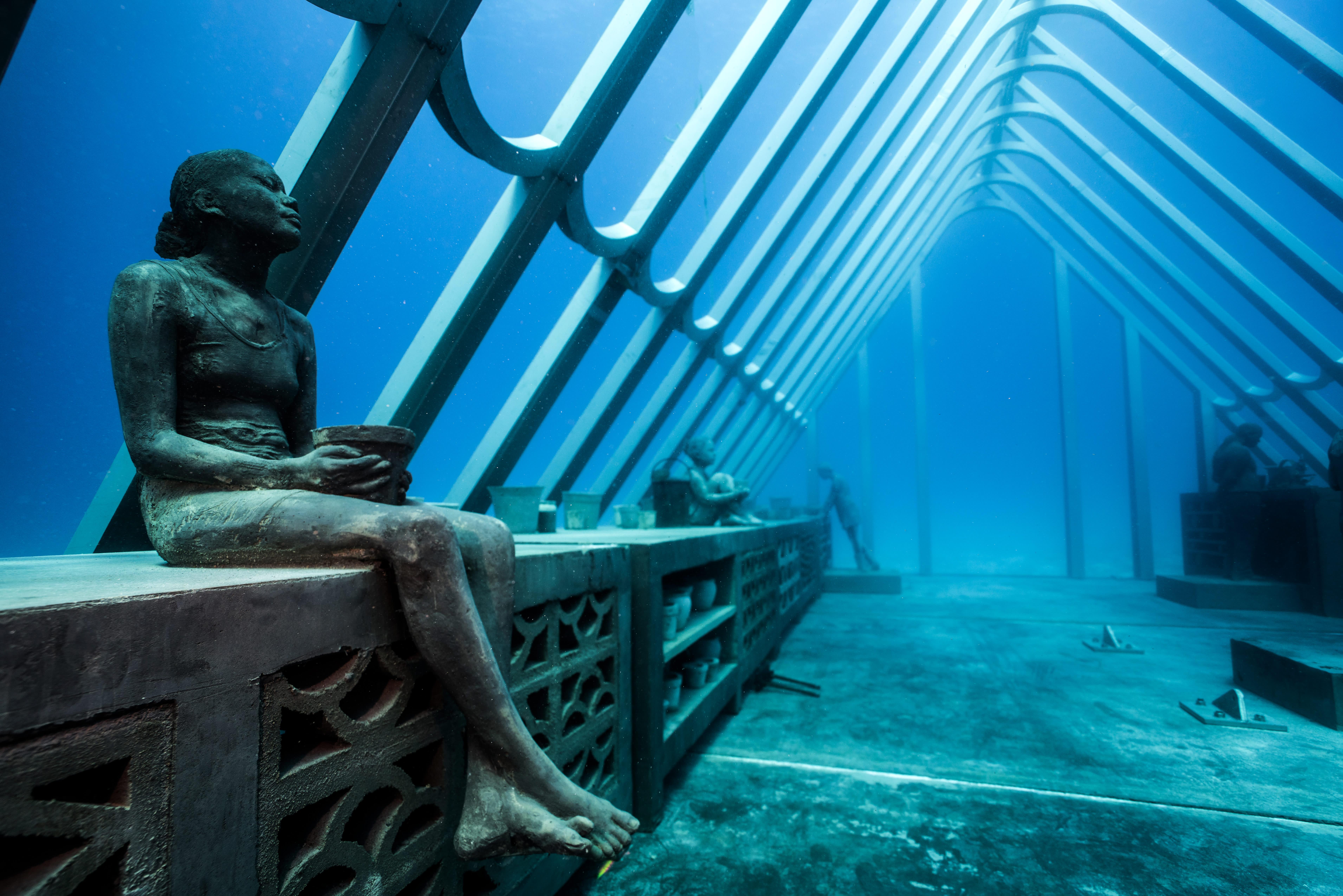 Museum of Underwater Art to open inside Australia's Great Barrier Reef