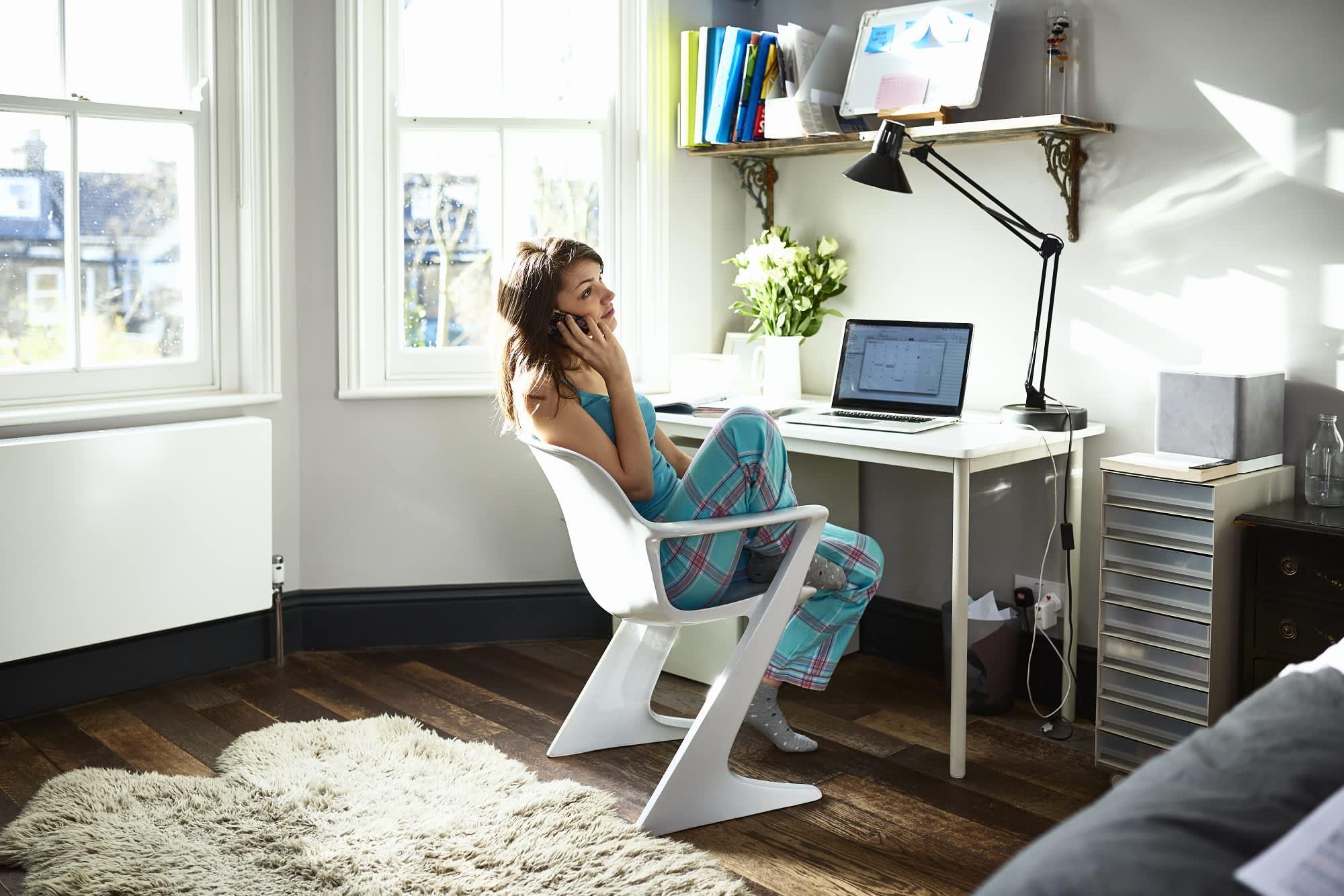 Comfort is key as virus keeps people home