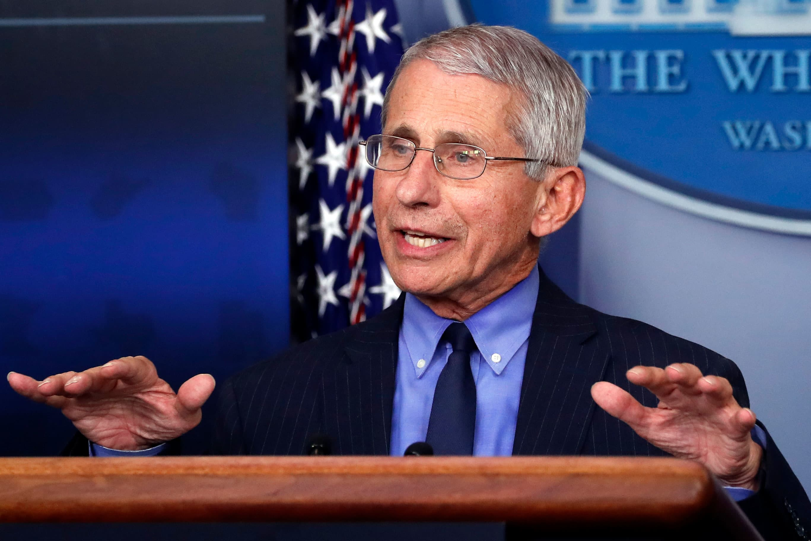 Anthony Fauci on Covid-19 reopenings, vaccines, and moving at 'warp speed'