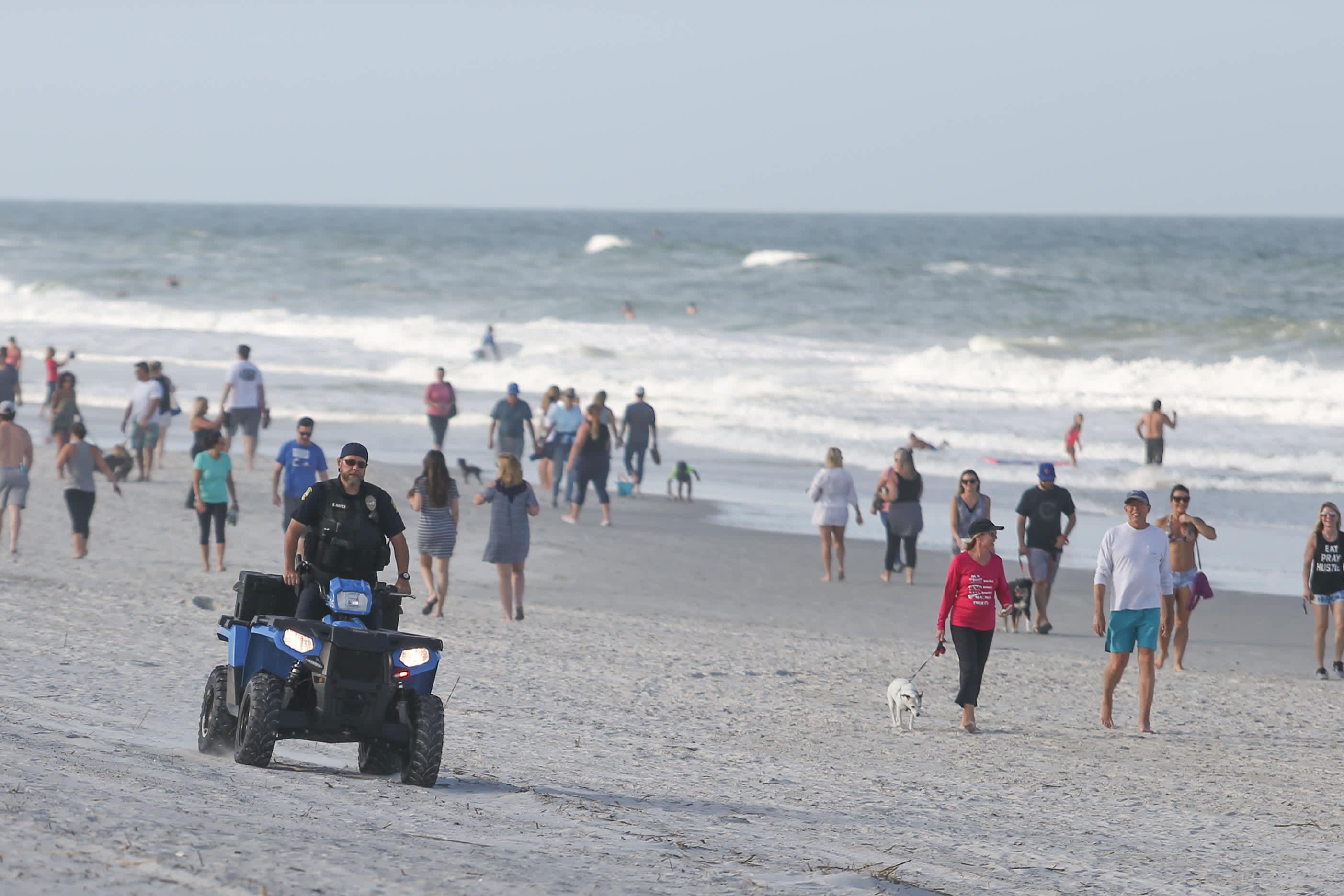 Ron Desantis Gives Some Florida Beaches