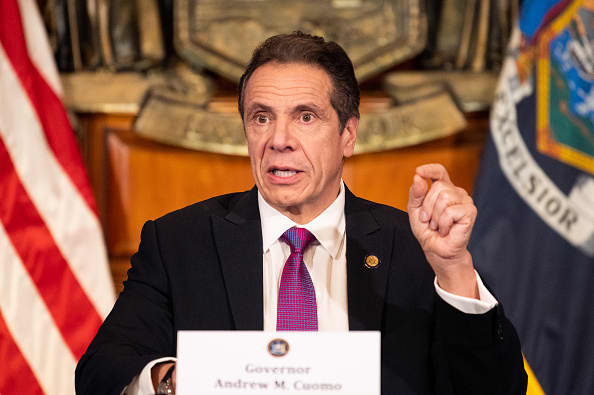 New York state's unemployment system 'collapsed' following a surge in claims, Gov. Cuomo says