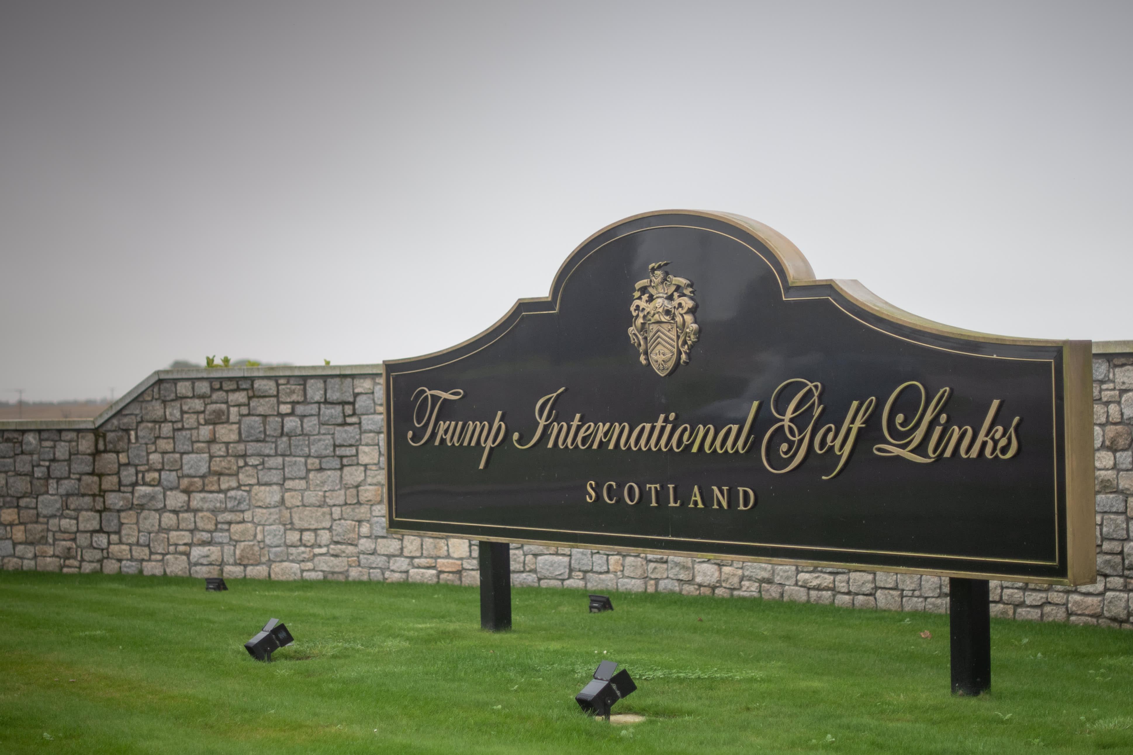 Trump Organization seeks government aid for UK, Ireland golf resorts