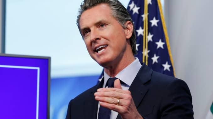 Gov. Gavin Newsom of California