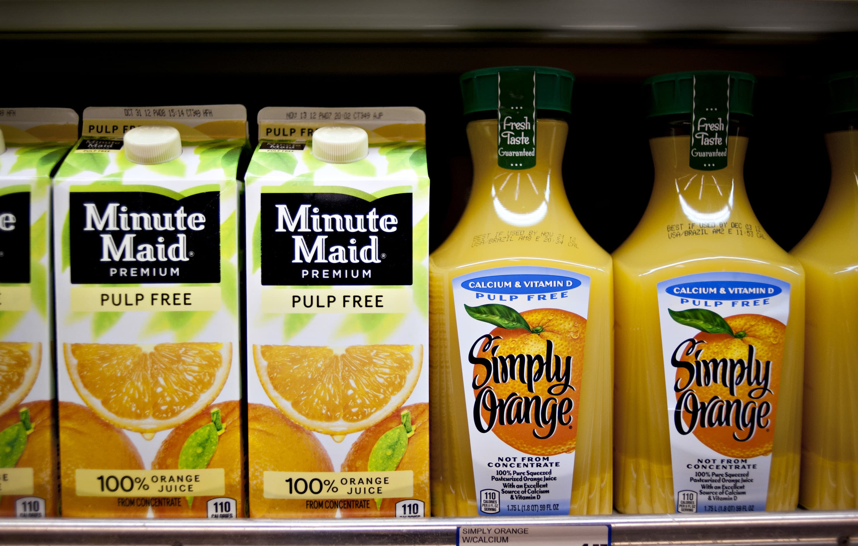Stay-at-home orders are reviving orange juice sales