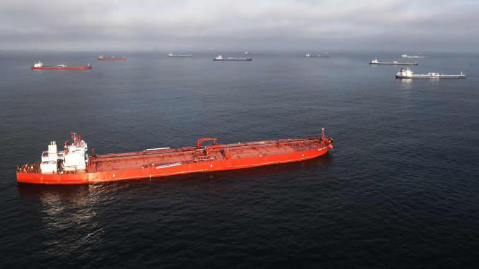 GP: Dozens Of Oil Tankers Sit Off The California Coast As Demand For Crude Plummets During Pandemic