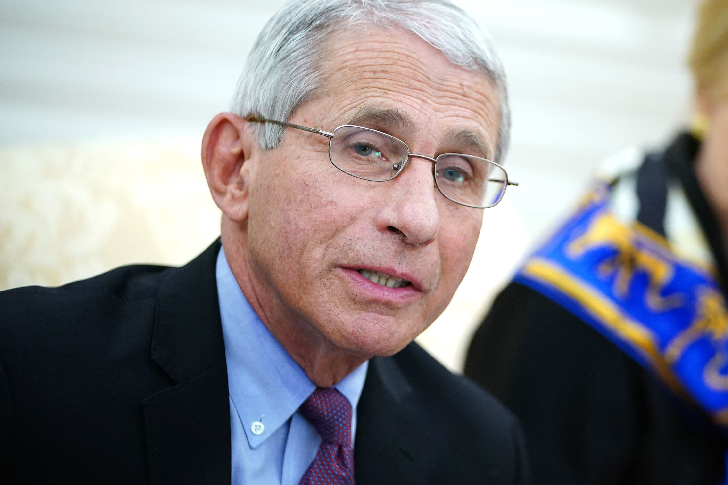 Dr. Anthony Fauci: What a typical day is like during Covid-19 pandemic