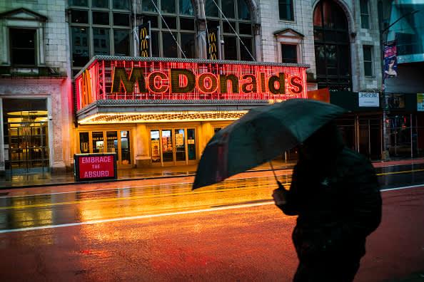 McDonald's (MCD) earnings Q1 2020 fall 17%