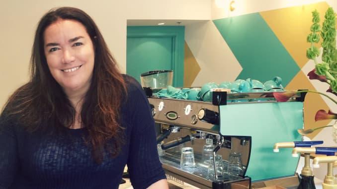 Luciana Gomez, Founder of Cafe Victoria in Dallas, TX.