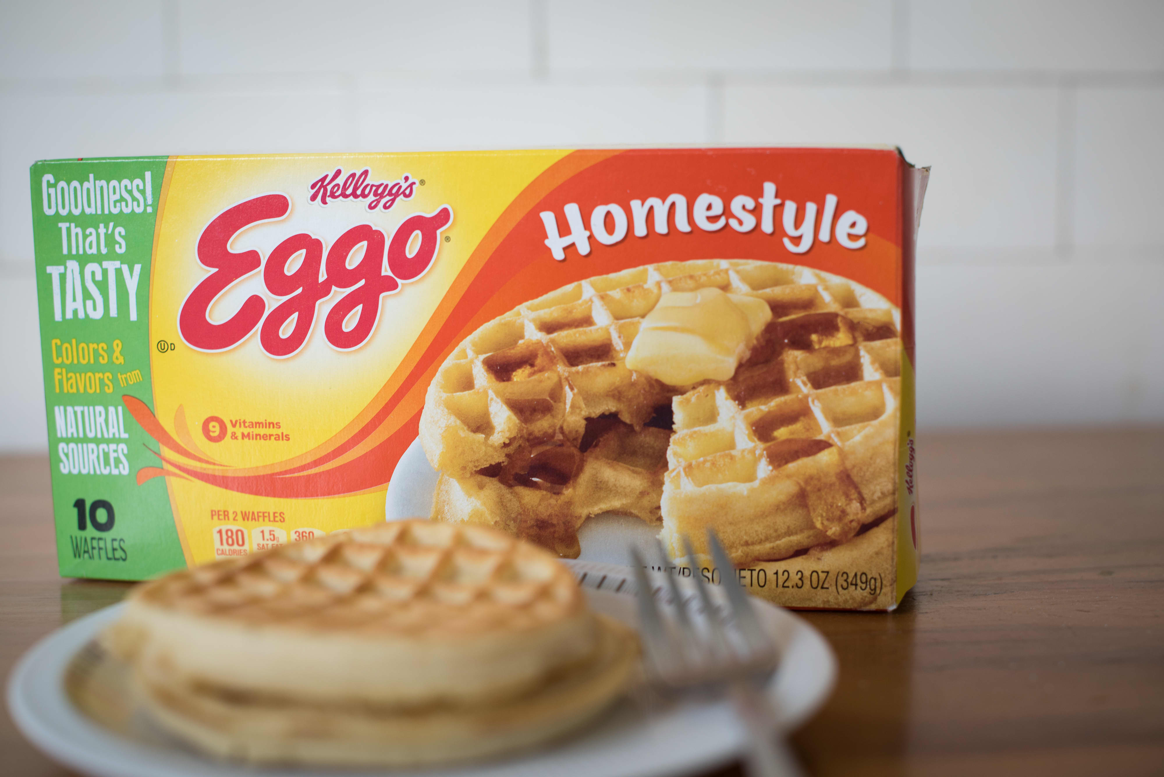 Kellogg's Eggo waffle sales soar 45% in March as consumers eat breakfast at home
