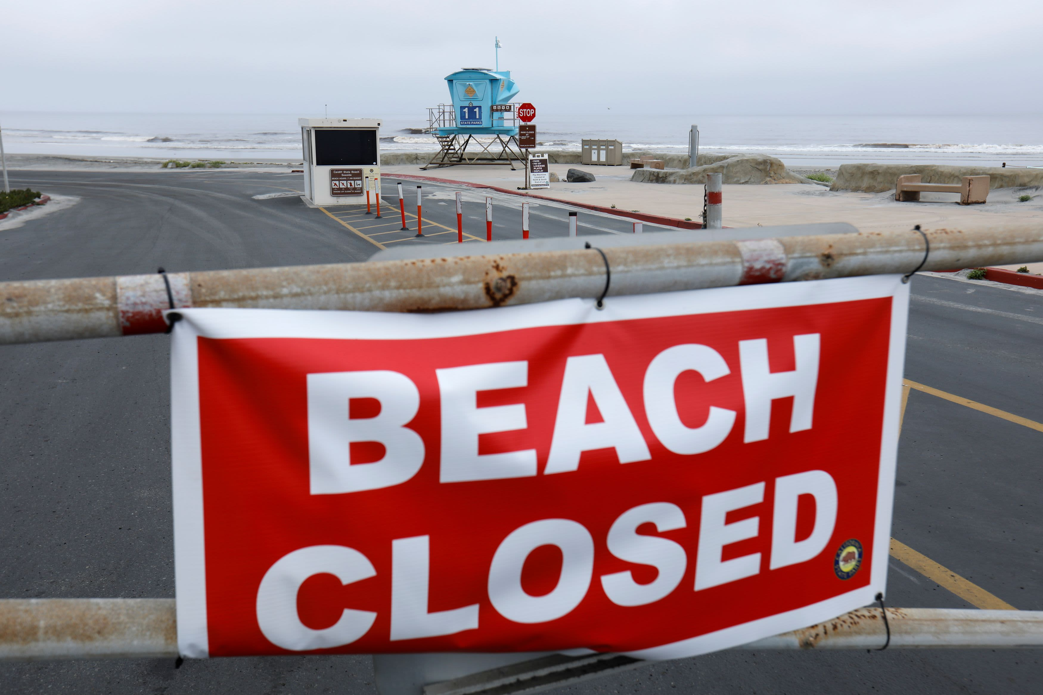 California Gov. Gavin Newsom to close Orange County beaches amid ...