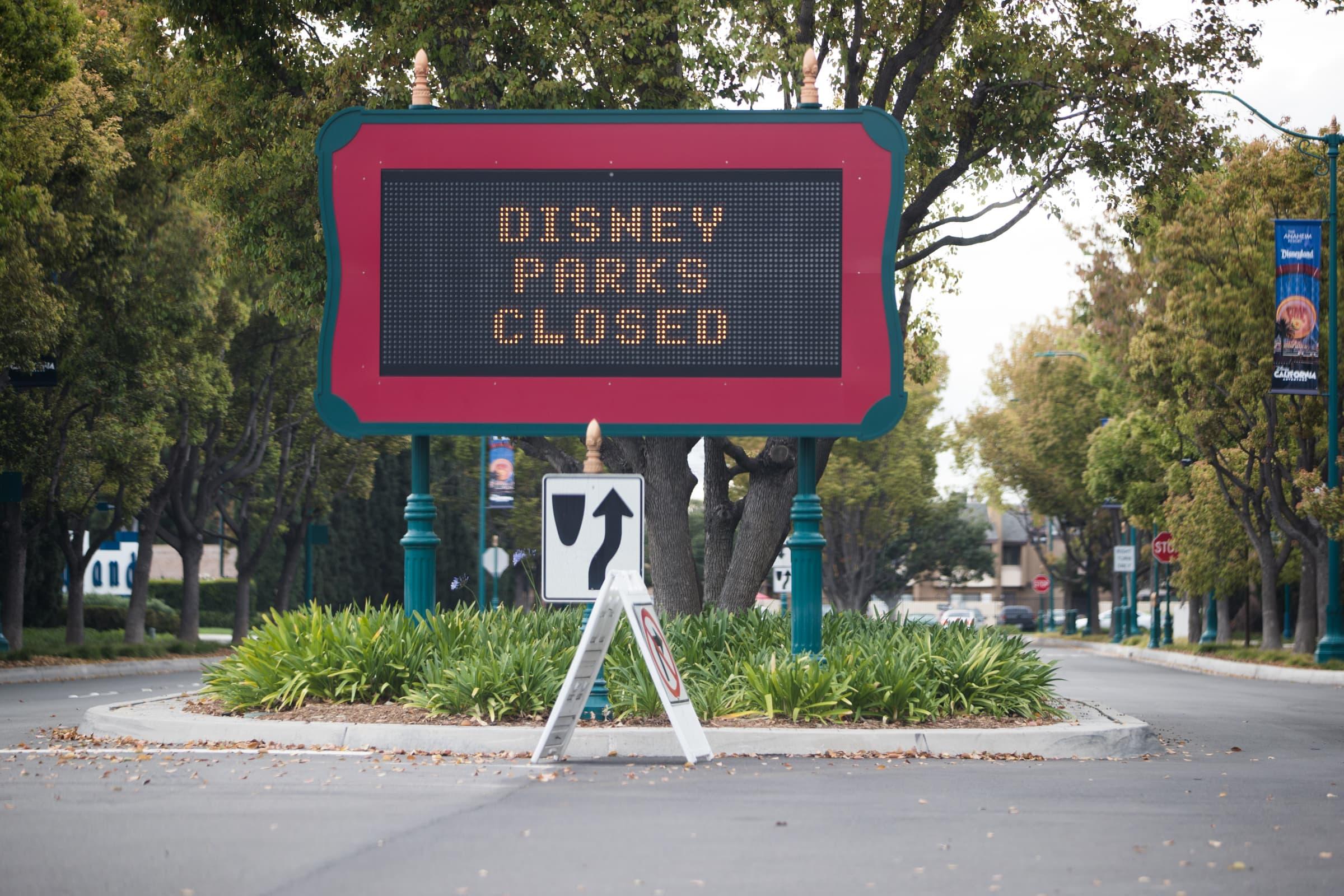 Theme park and cruise shut down cost Disney $1 billion