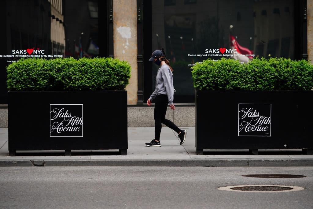 Saks Fifth Avenue says traffic hasn't dropped as coronavirus cases rise