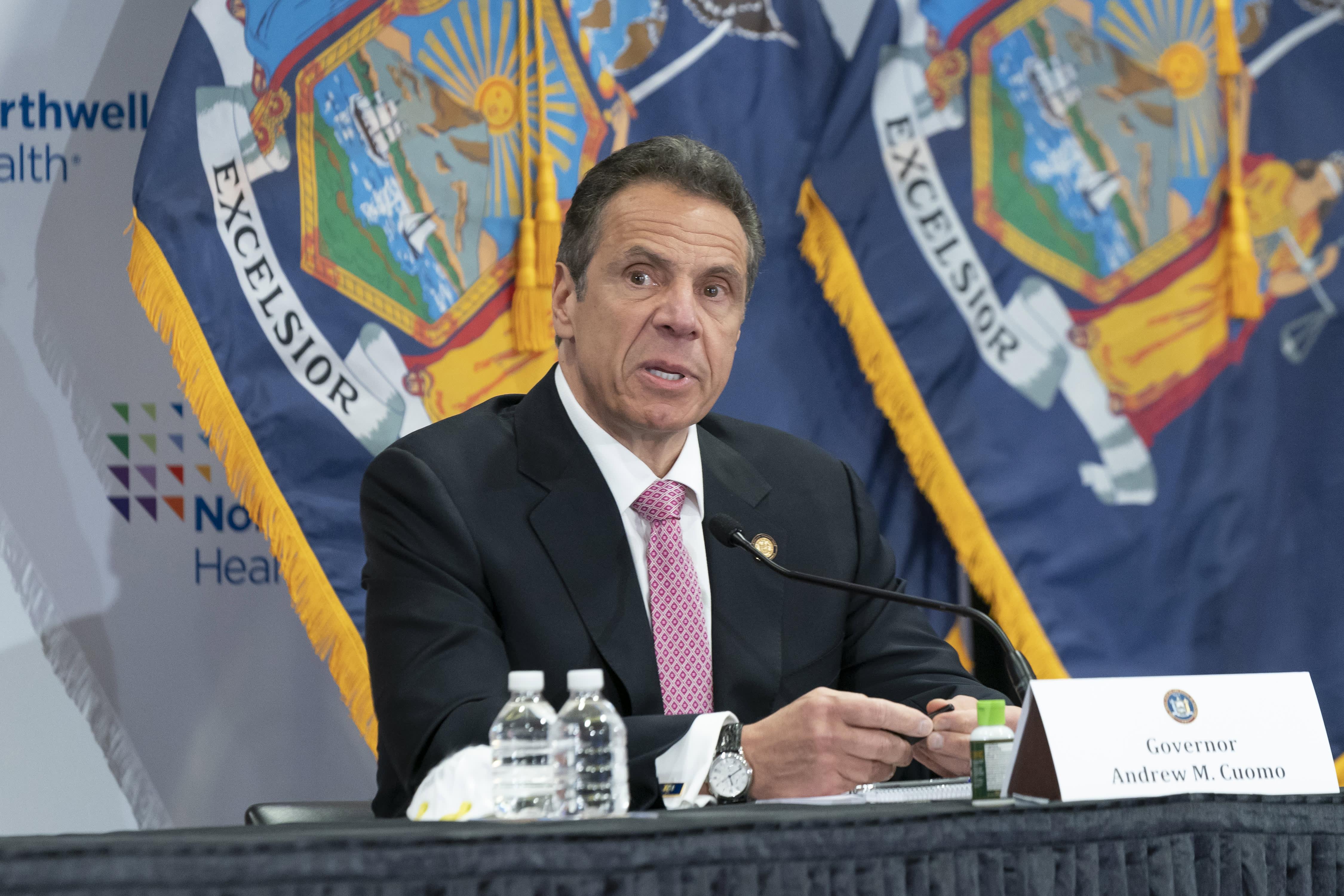 New York Gov. Cuomo says he won't sacrifice human lives to reopen economy