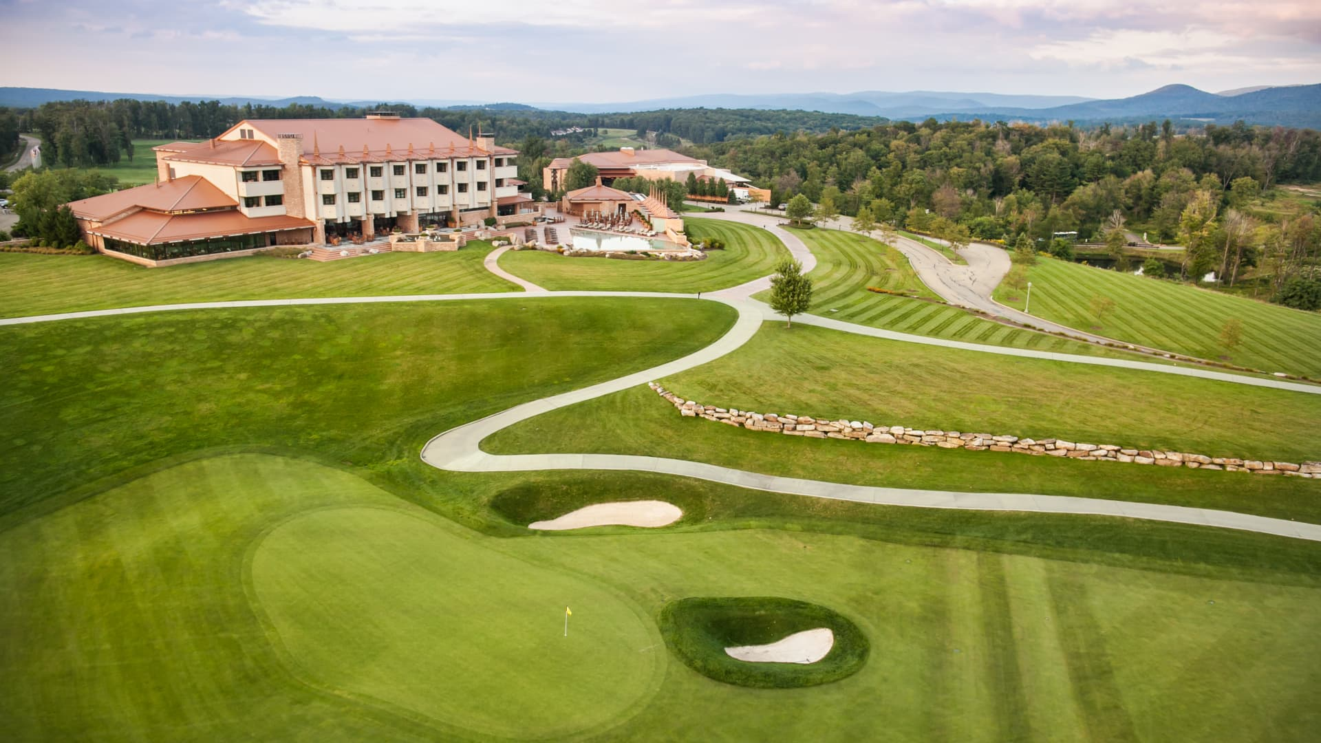 One of Nemacolin's two golf courses