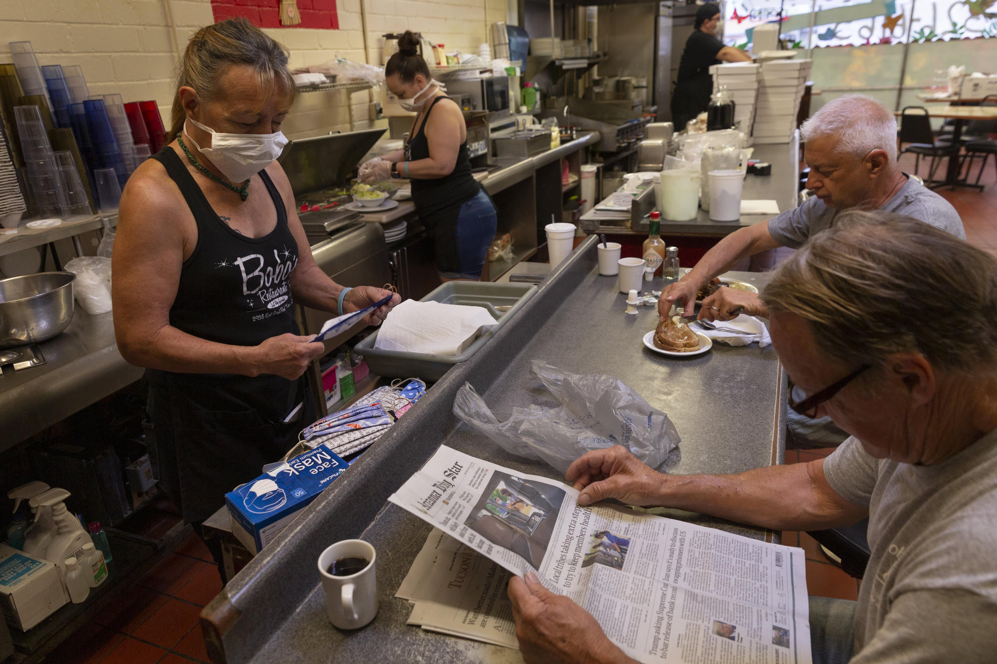 People not wearing masks is factor in Arizona coronavirus spike
