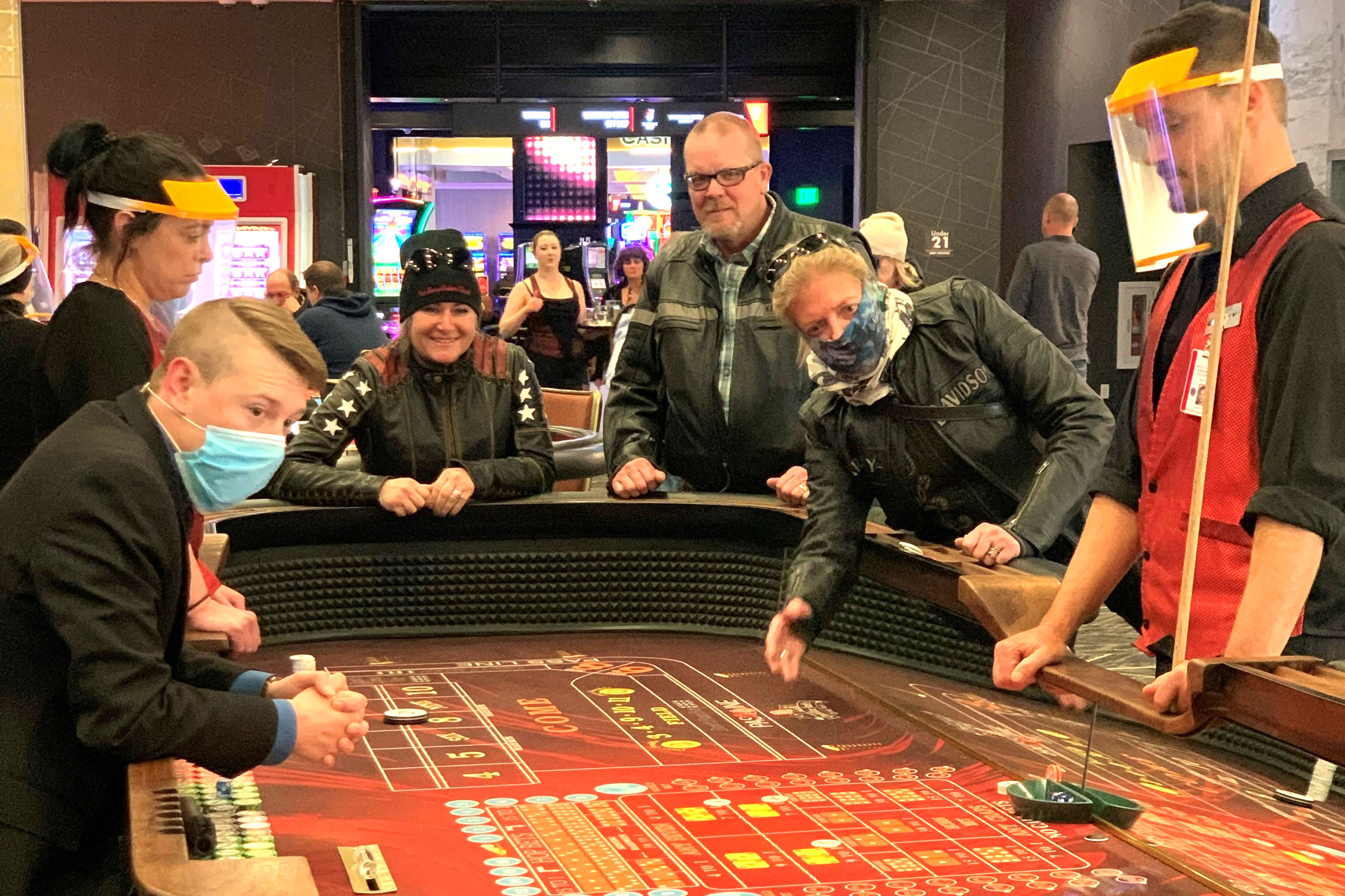 'Cabin fever' leads to big reopening weekend for South Dakota casinos