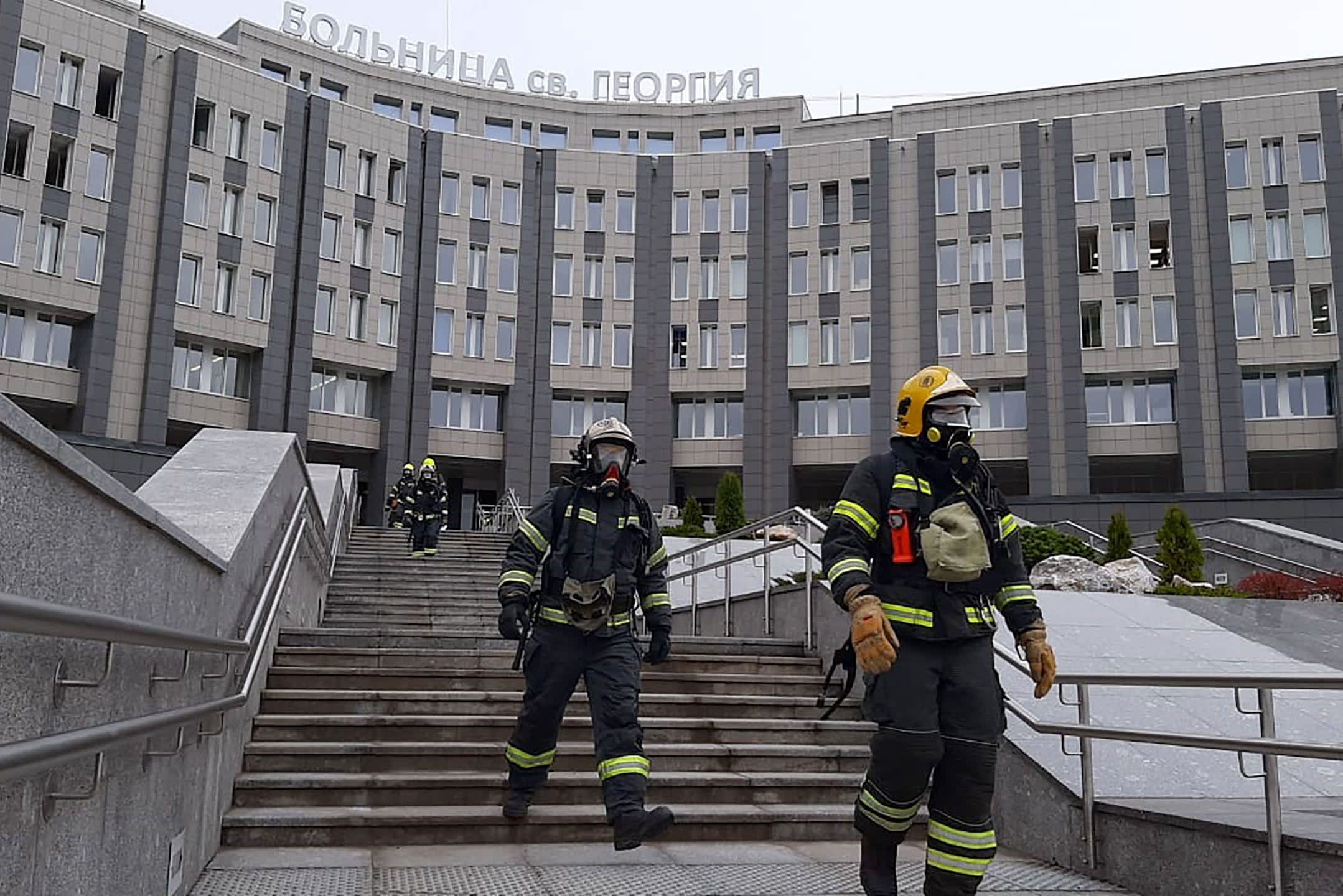 Fire in Russian hospital kills 5 coronavirus patients; ventilator could be to blame - CNBC