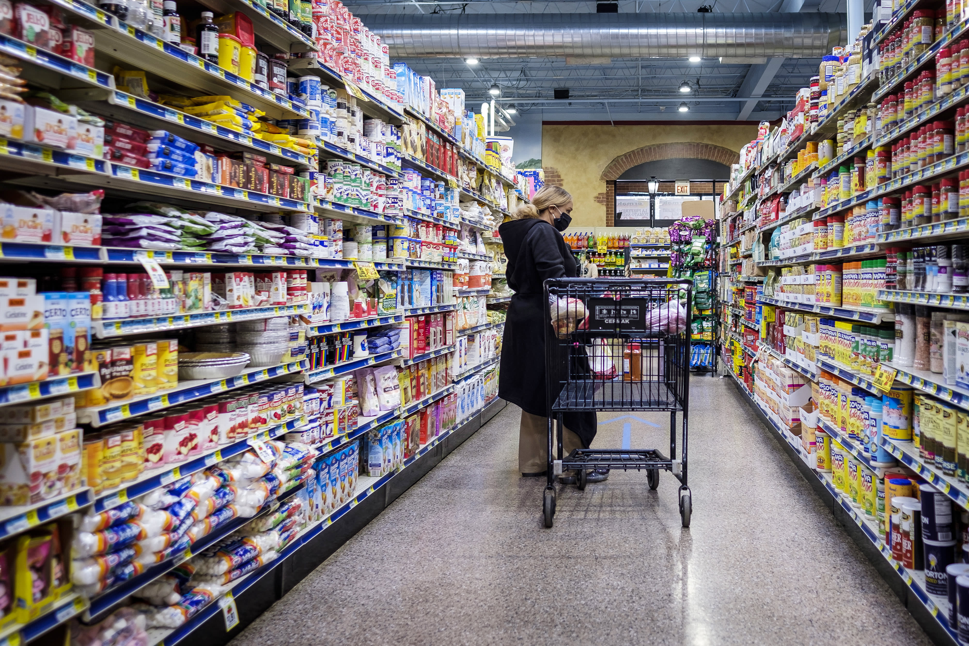 Shoppers Shift From Stockpiling To Penny Pinching At The Grocery Store