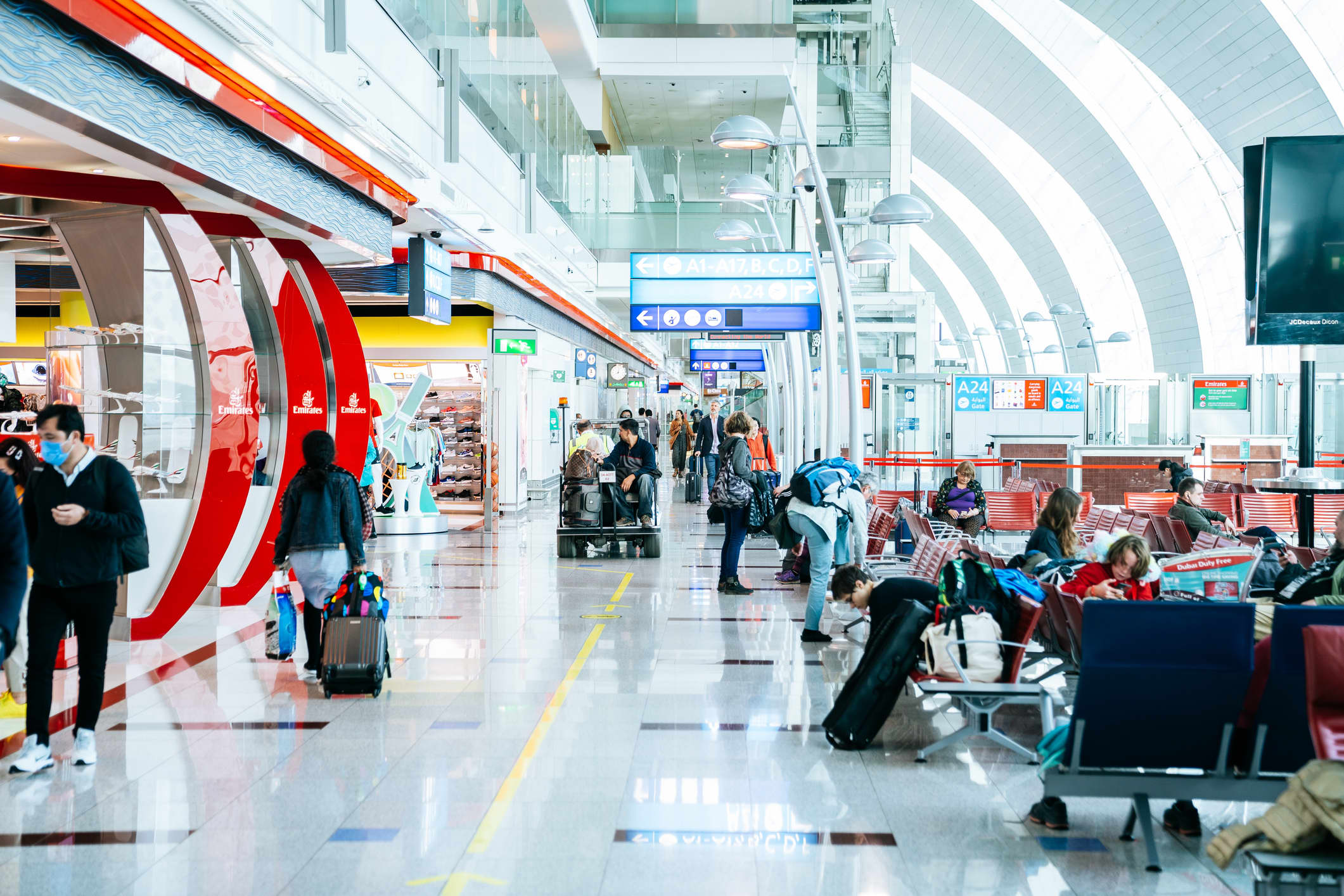 Dubai Airport's passenger numbers plunged 20% in the first quarter as coronavirus crushed travel