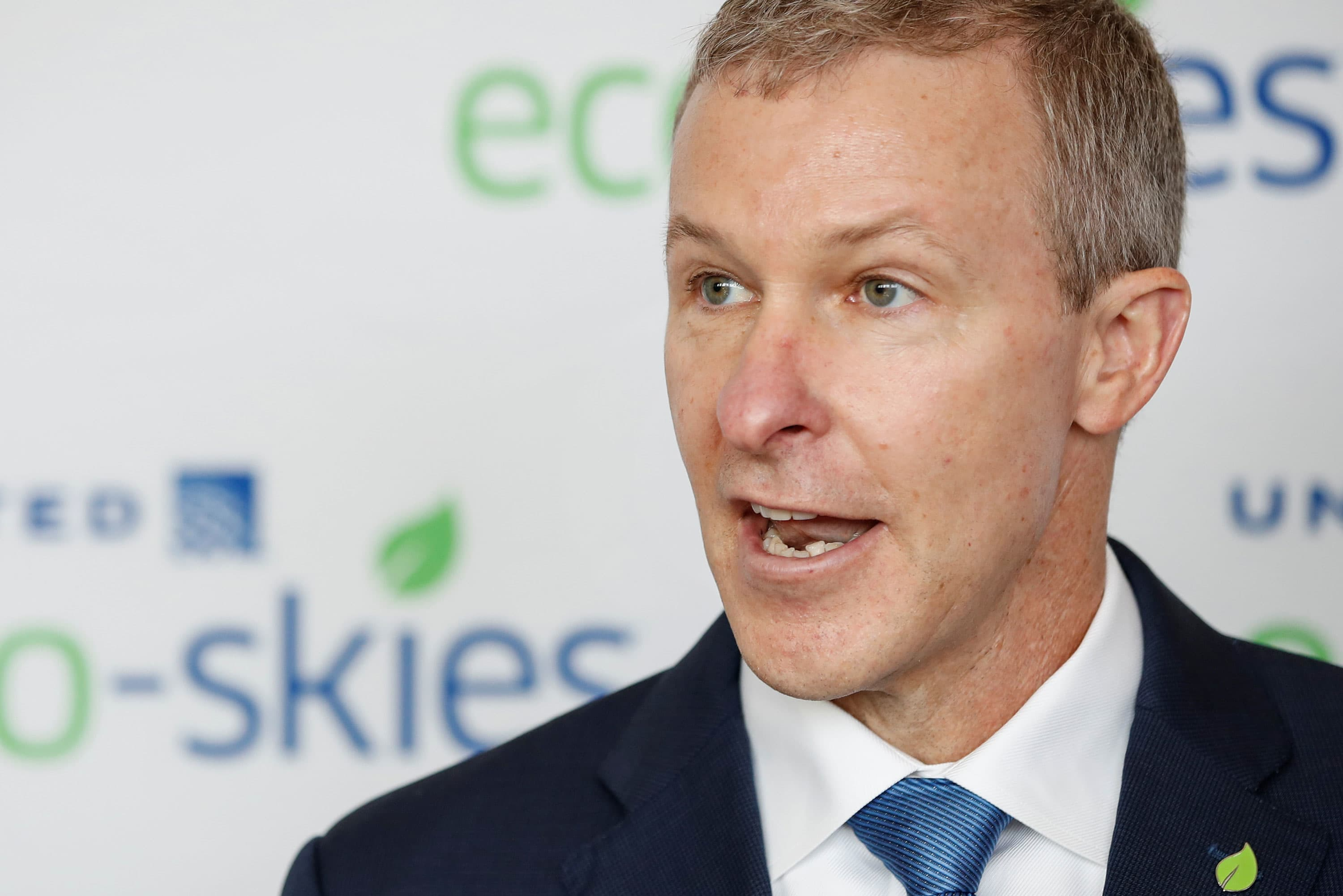 United Airlines' new CEO Scott Kirby vows to get through coronavirus 'hell'