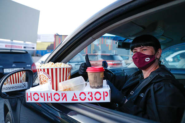 Drive-in theaters offer haven; Slovenia declares an end to pandemic