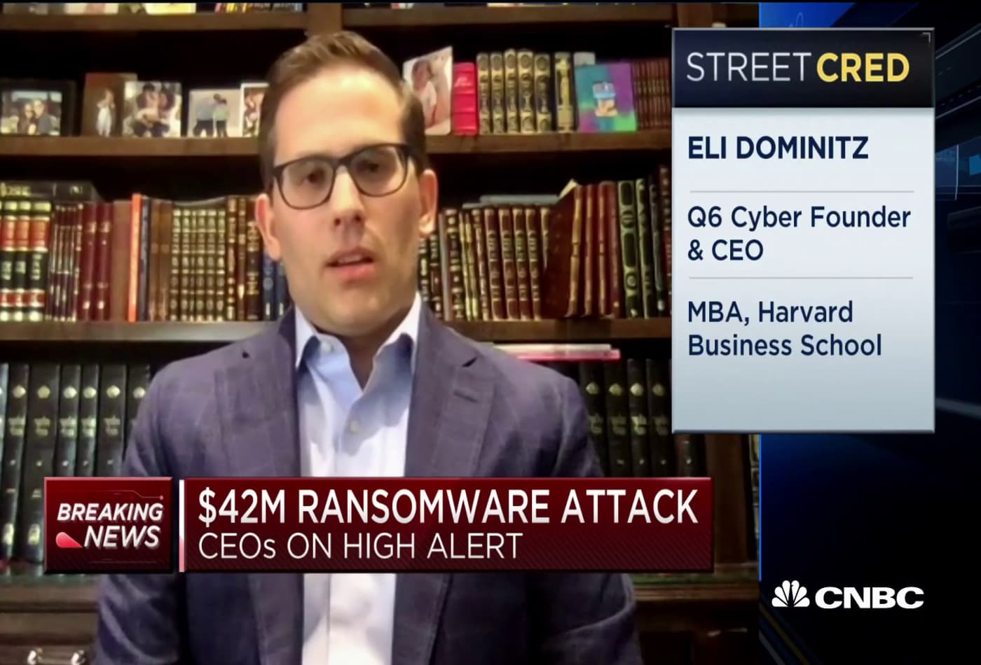 Cybersecurity firm CEO on $42 ransomware attack