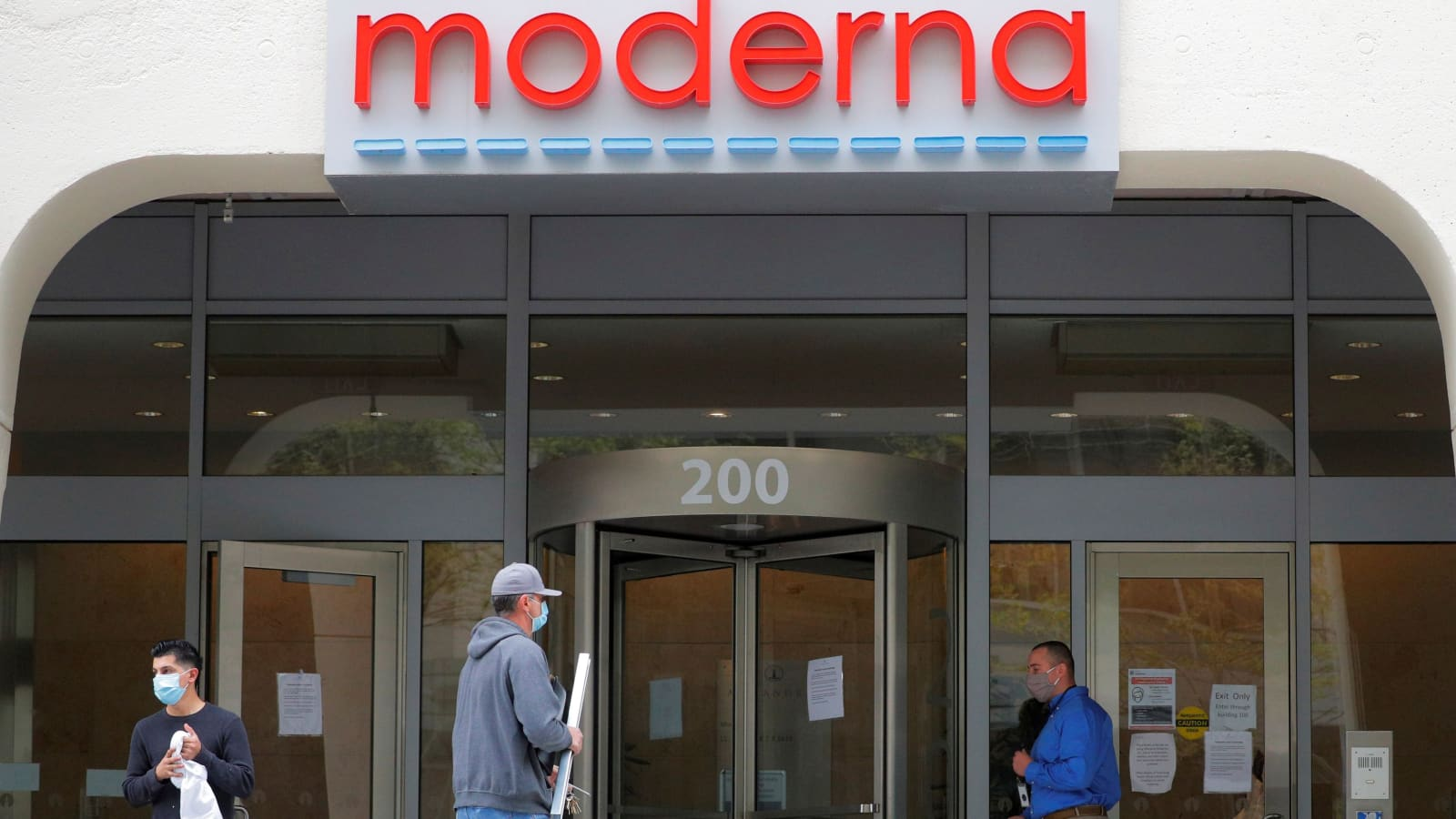 Moderna stock surges after company announces promising coronavirus vaccine trial data