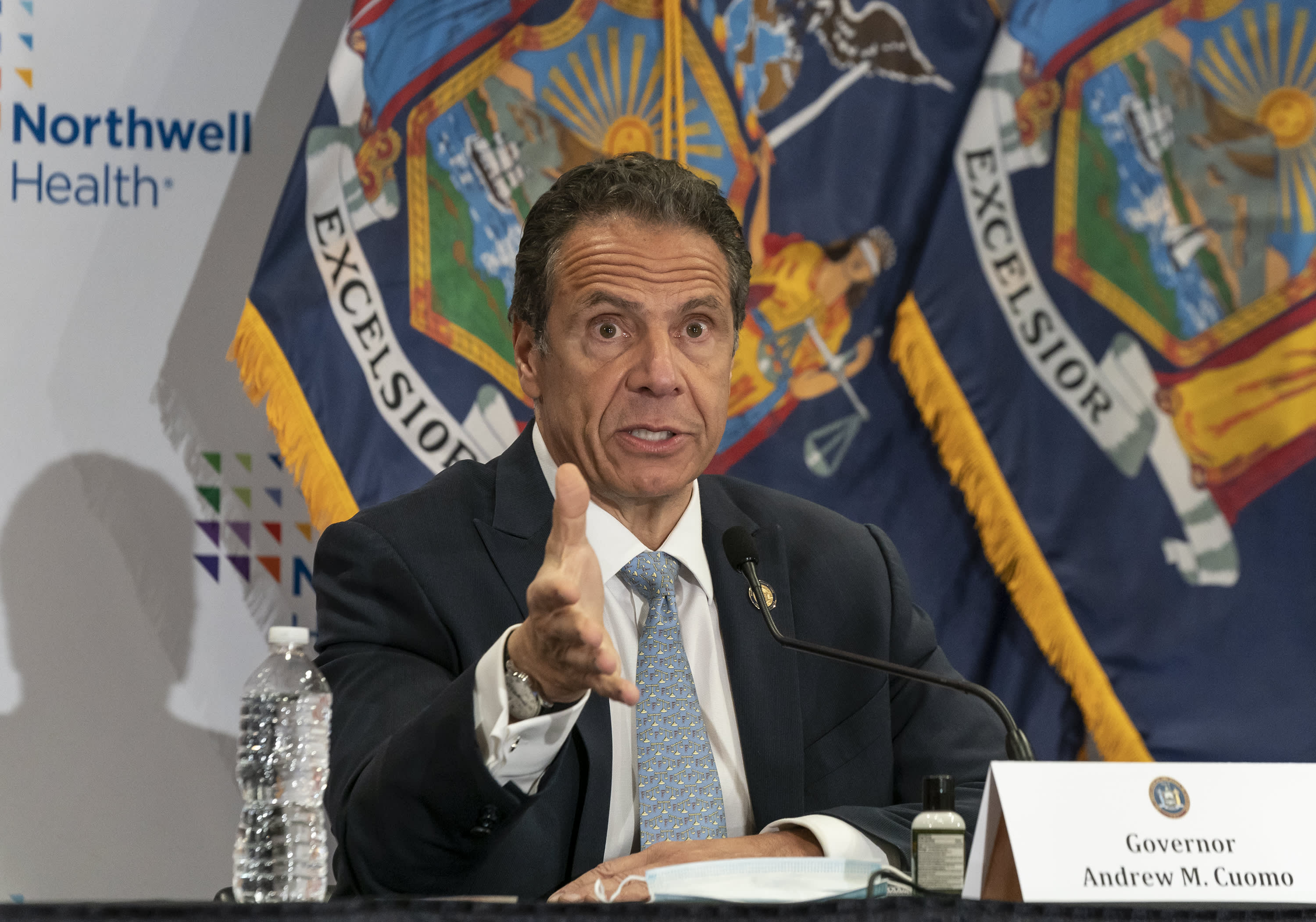 NY schools should plan as if they are reopening in September, but Cuomo says it's too early to decide