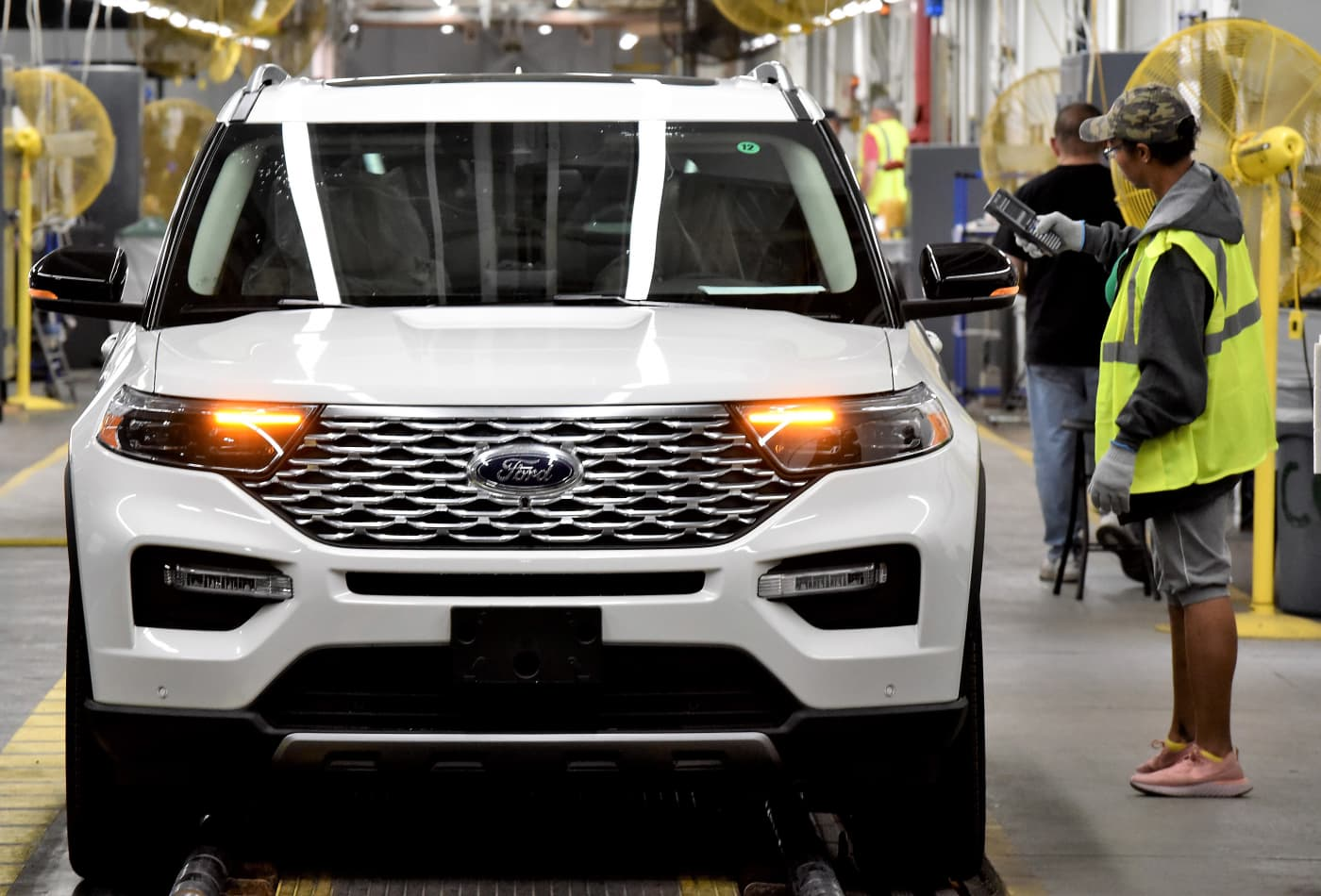 Ford sales fall 33.3% due to coronavirus, stay-at-home orders