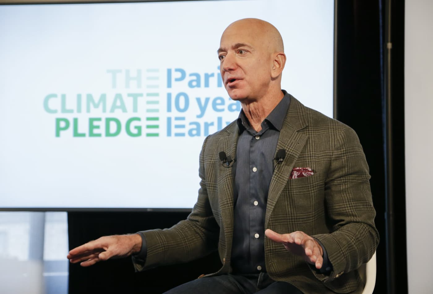 Jeff Bezos' investment into Beacon is 'personal' and not tied to Amazon, UK firm's CEO says