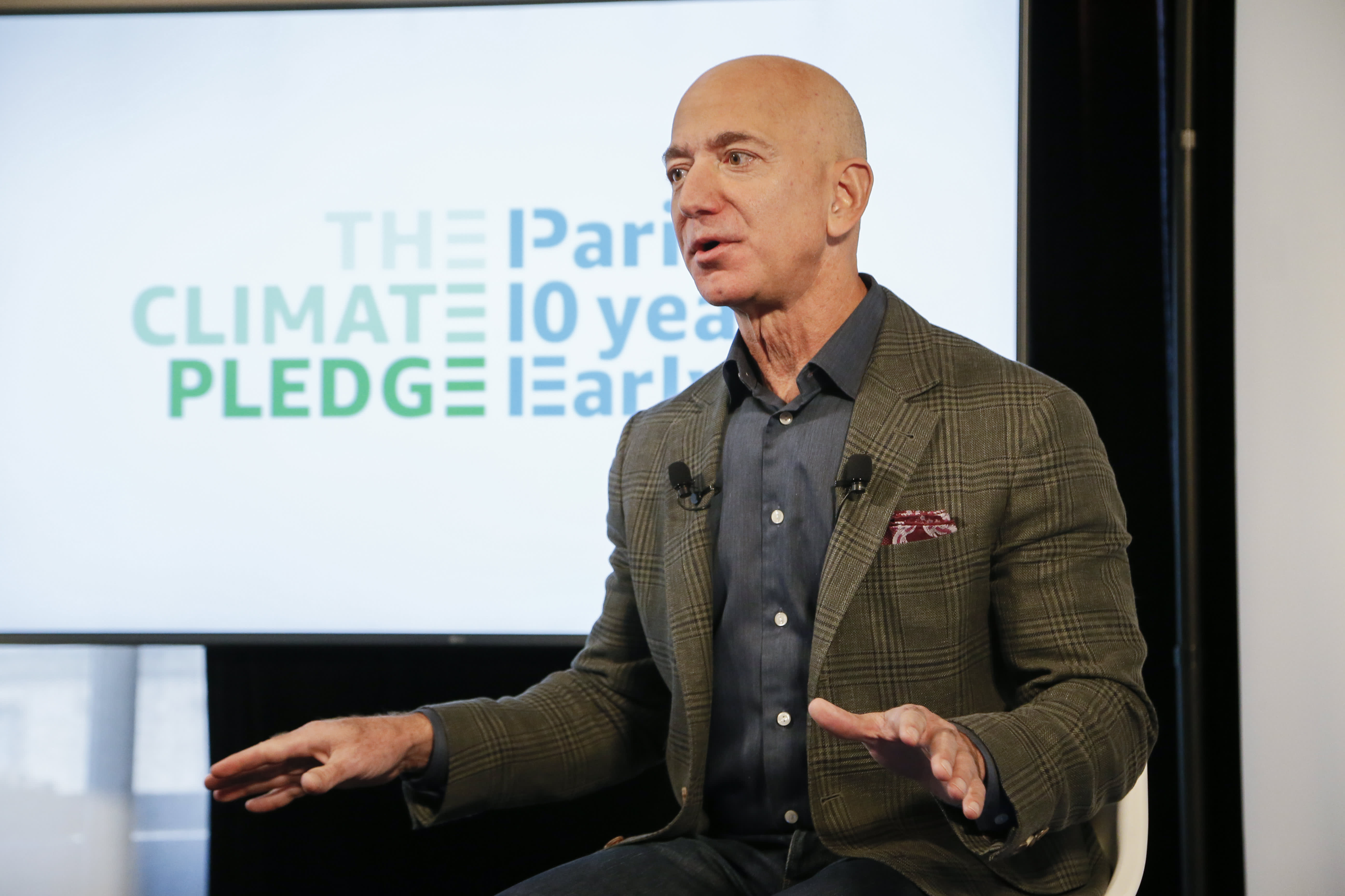 IBM is one of 20 companies joining The Climate Pledge, a commitment to go green started by Amazon and Jeff Bezos - CNBC