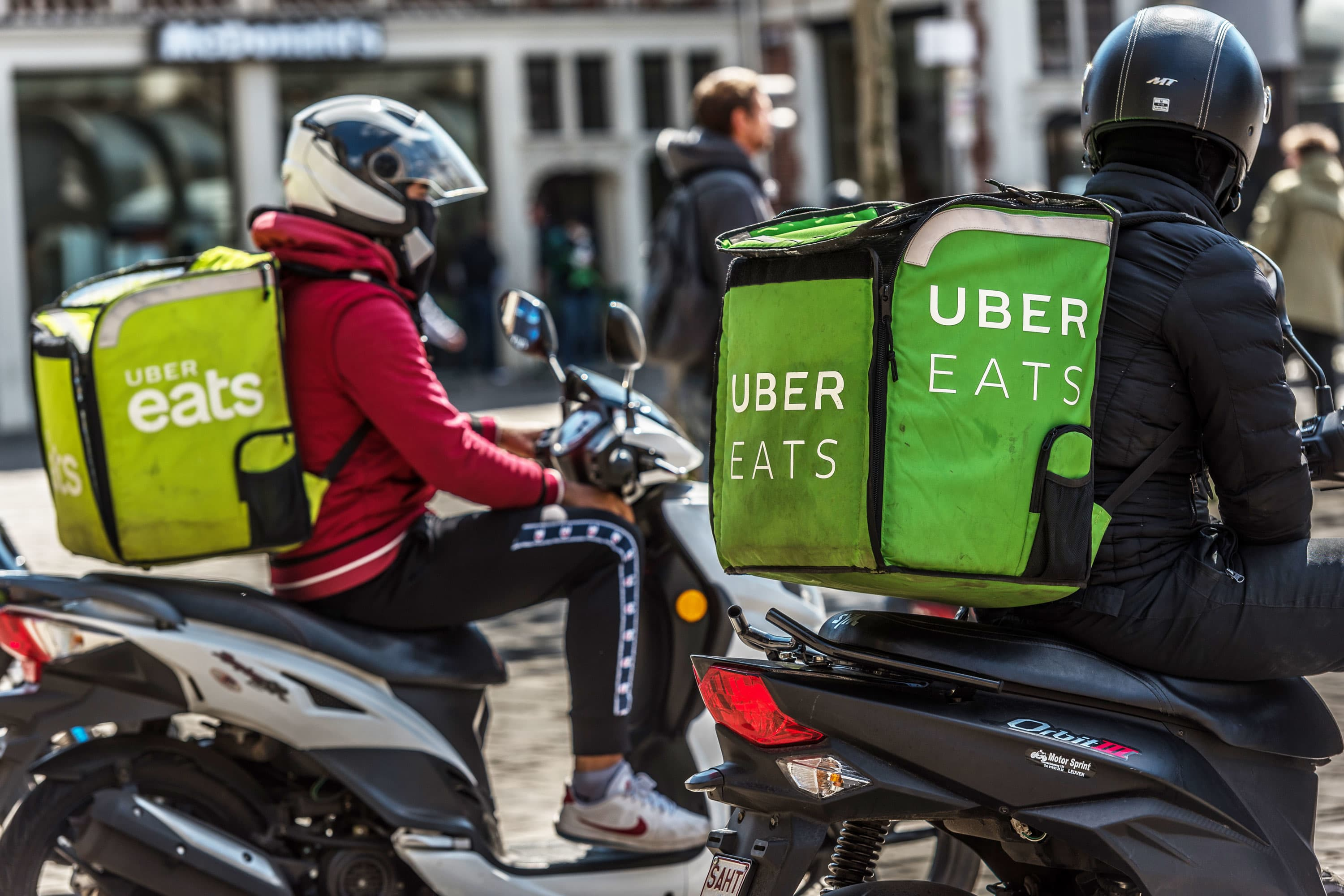 Uber losses narrow as delivery growth outpaces fall in ride-sharing