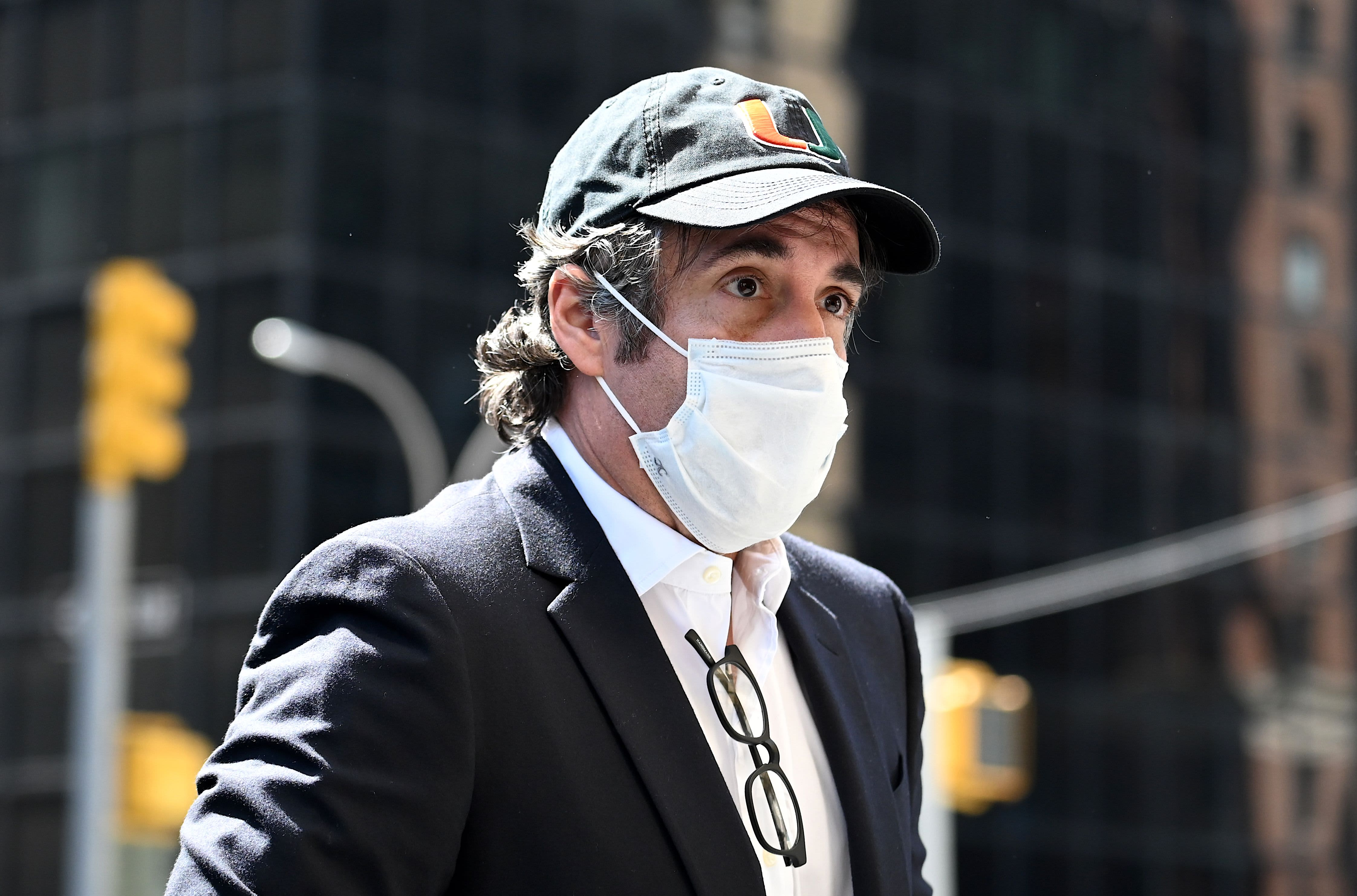 Trump's ex-lawyer Michael Cohen taken into custody after he balks at media gag