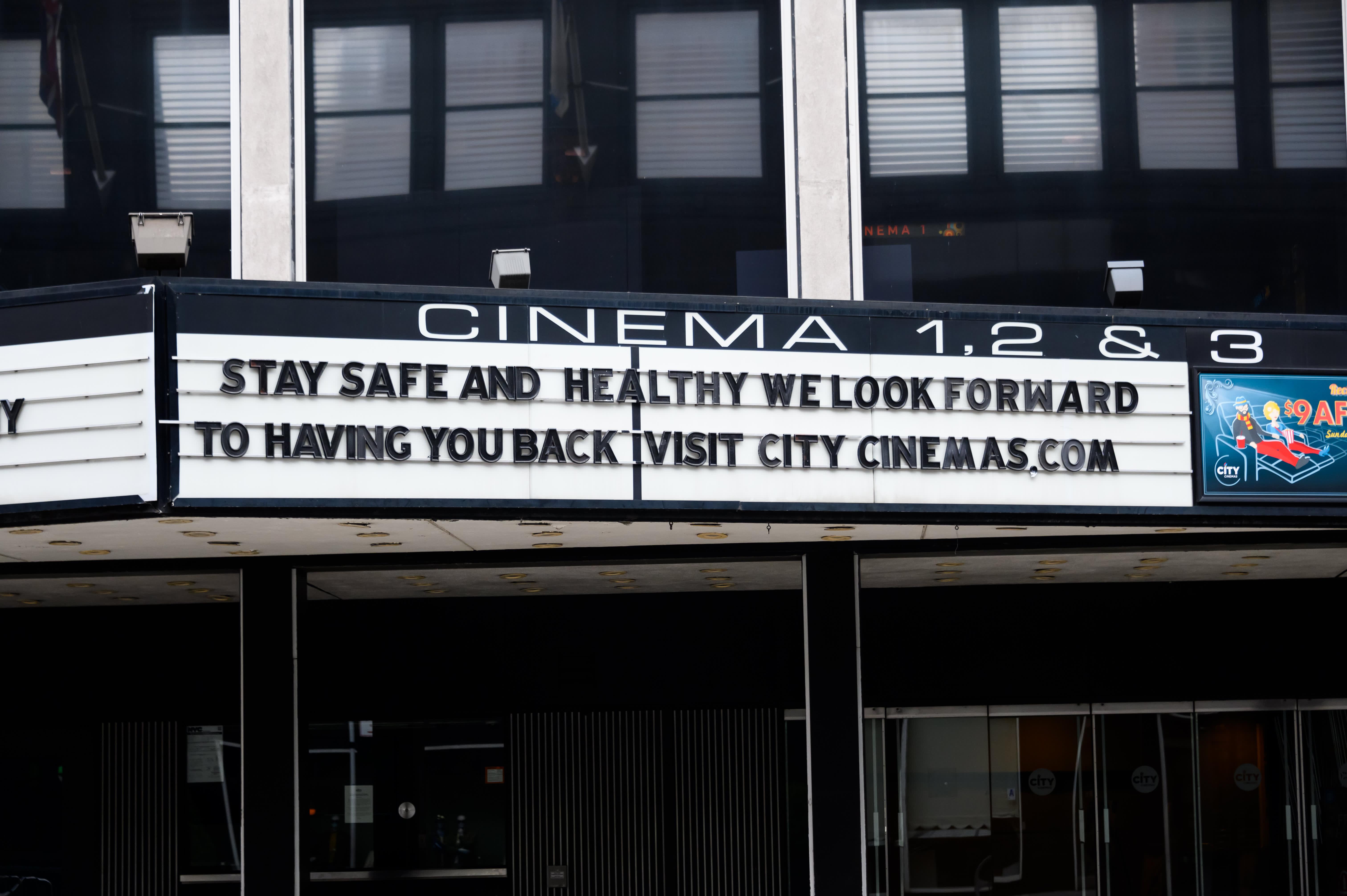 Dire Outlook For Cinemas As Coronavirus Resurges In U S