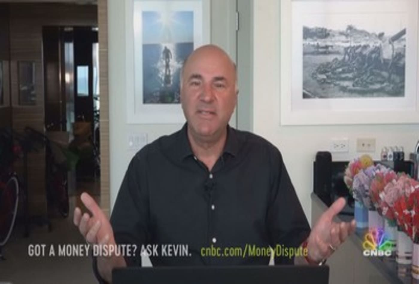Kevin O'Leary's advice to a family arguing over an inherited golf cart