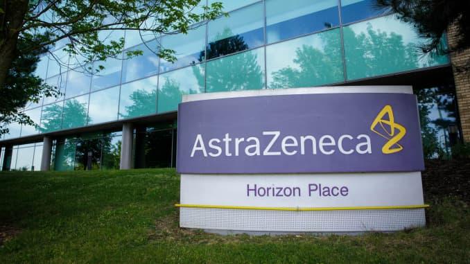 An AstraZeneca location.