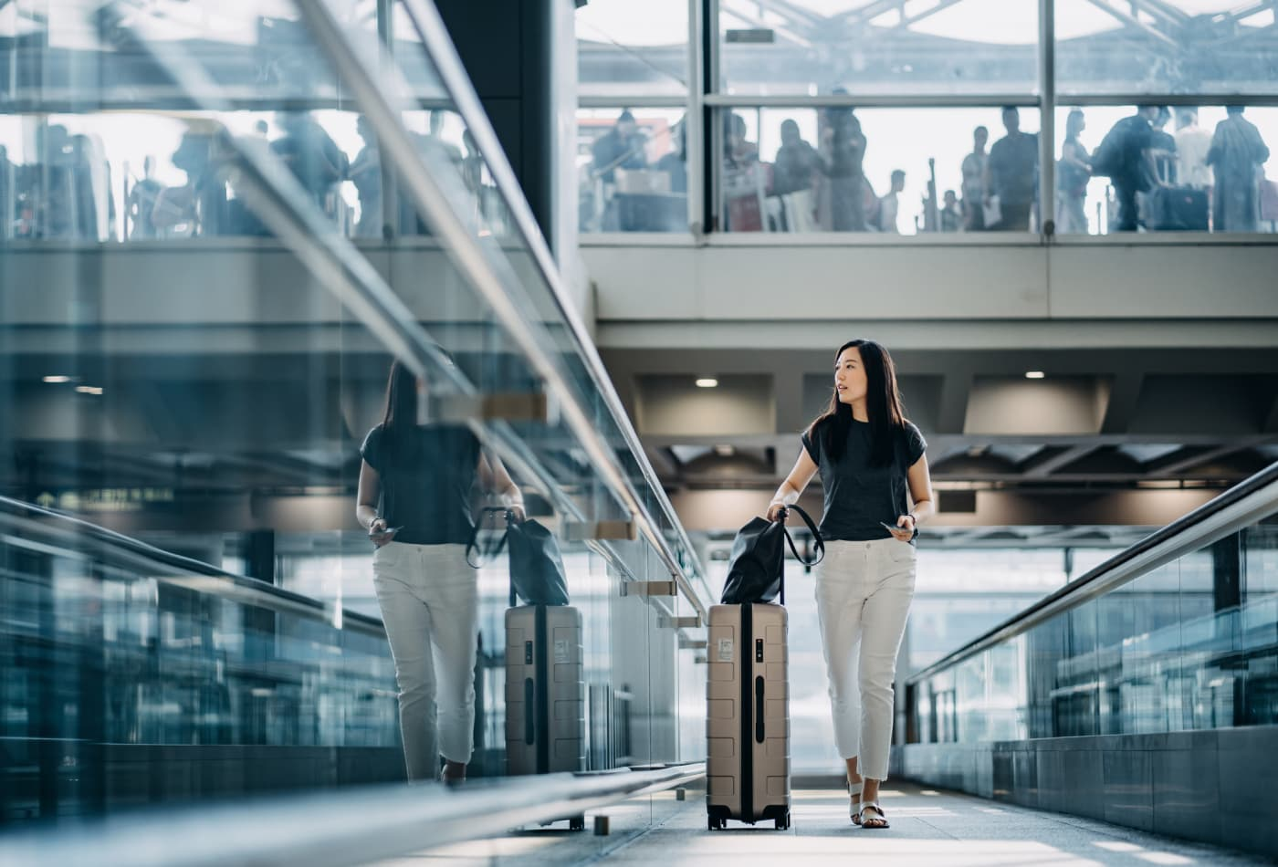 Five ways the pandemic may change airports for the better