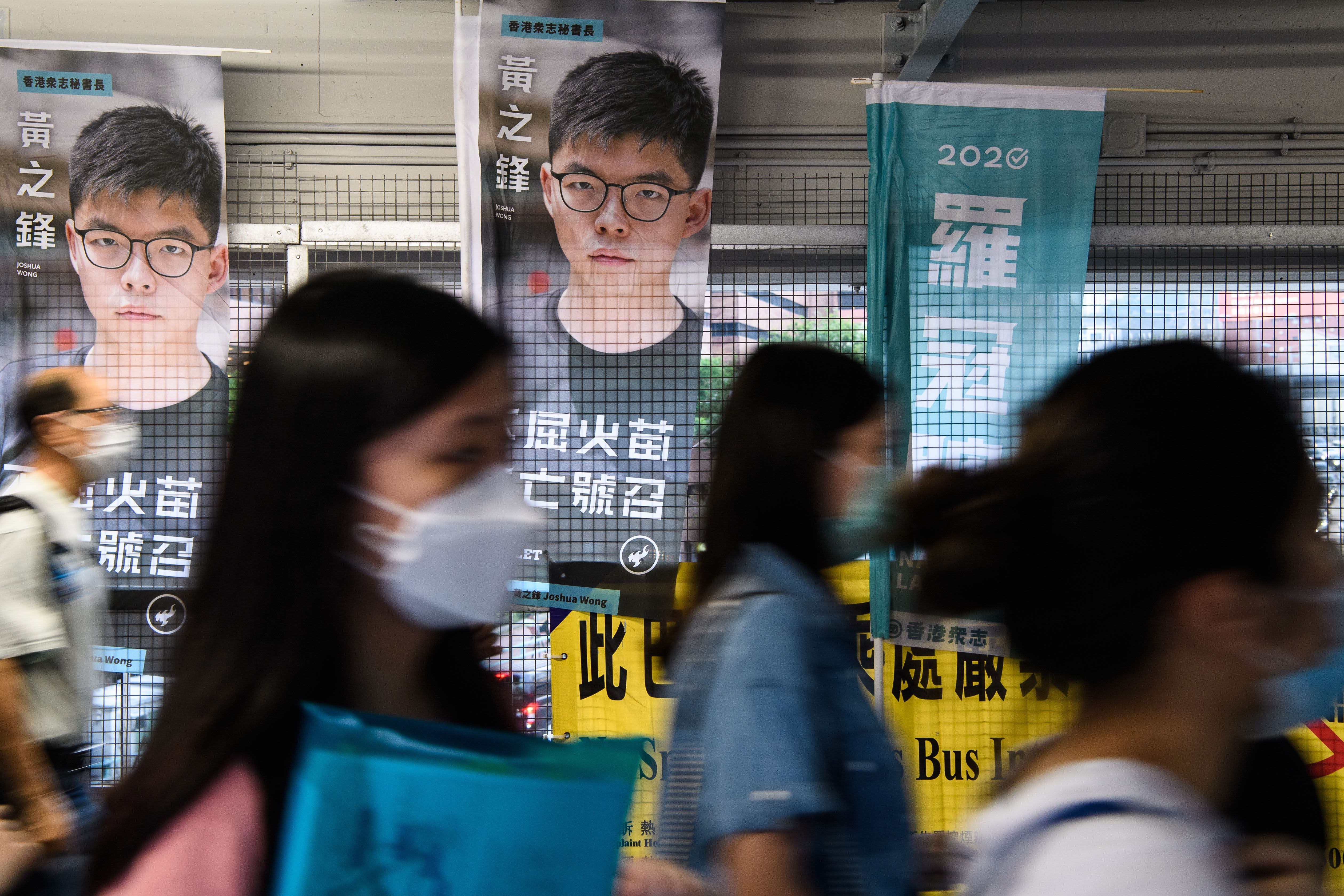 Hong Kong activist Joshua Wong says Beijing's bill is about boosting Communist regime, not national security thumbnail