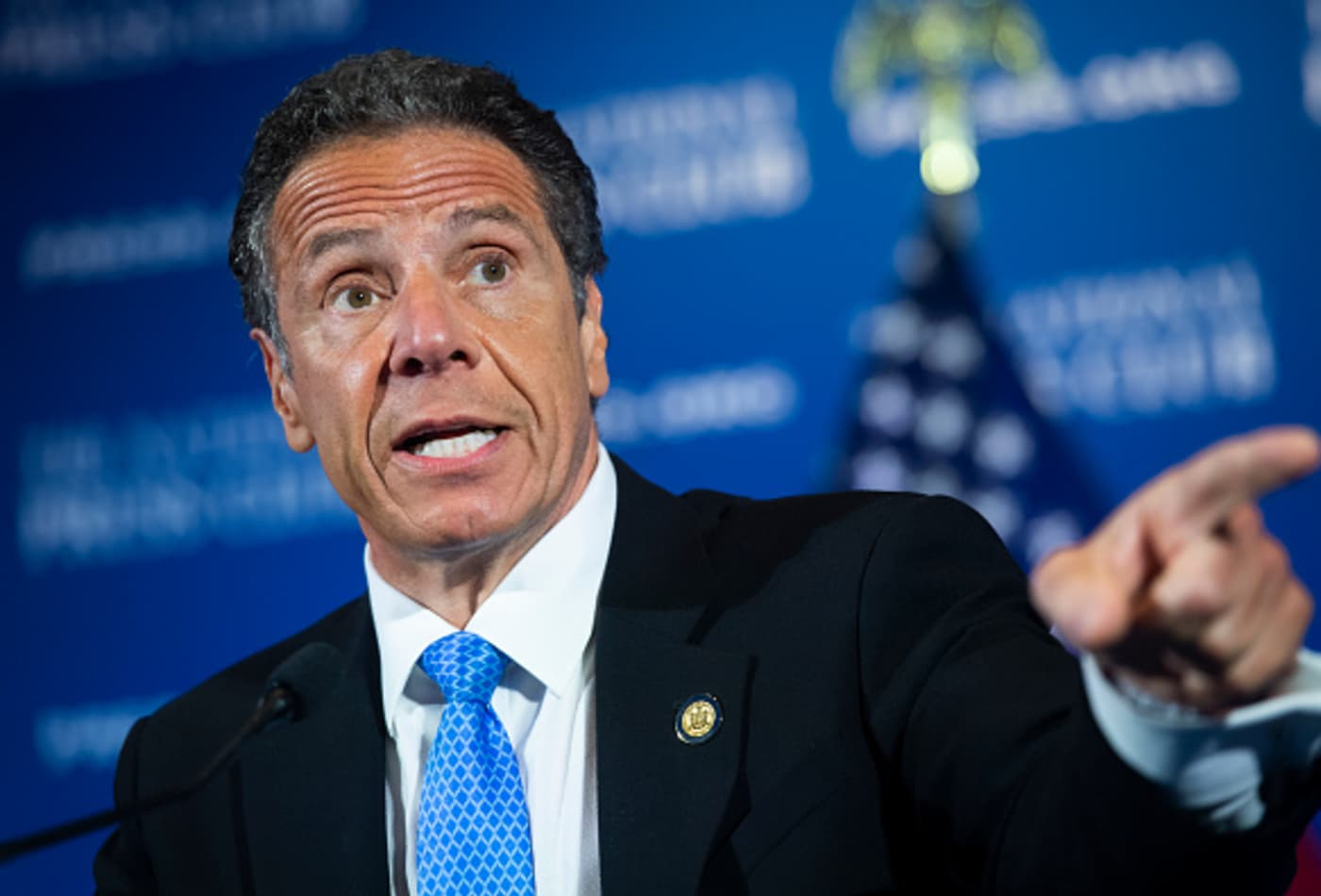 New York Gov. Cuomo says businesses will be allowed to deny entry to people not wearing a face covering