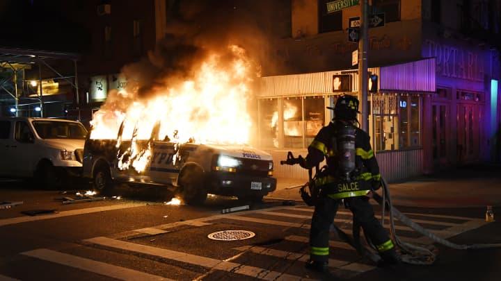 George Floyd Protest Updates Cities Impose Curfews