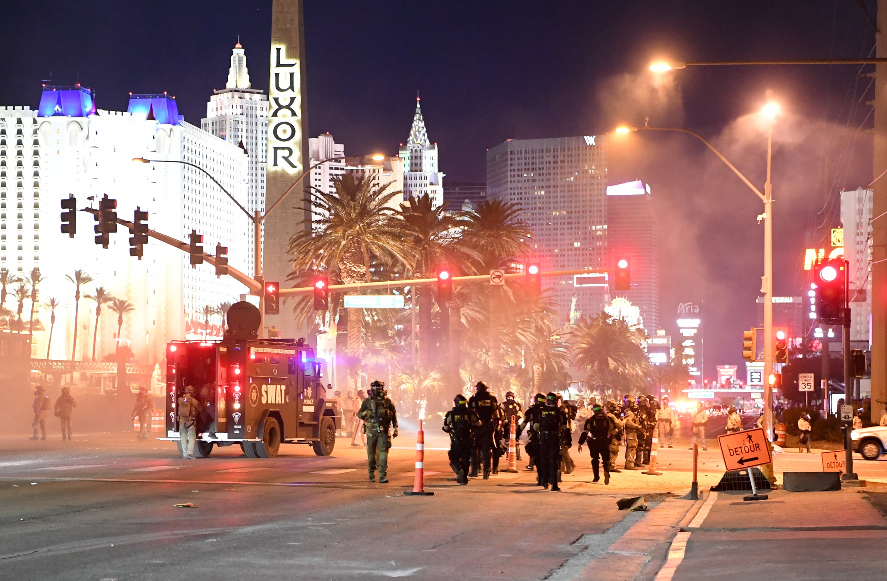 Protests may derail an expected strong reopening for Las Vegas casinos
