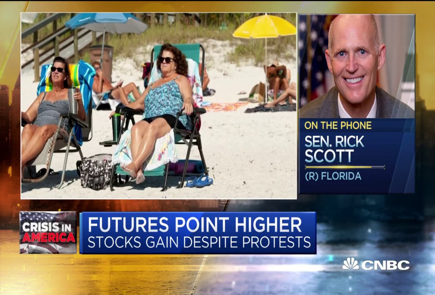 Sen. Rick Scott: We shouldn't bail out states with 'ridiculous budgets' such as New York