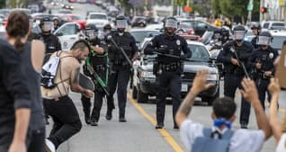 George Floyd protests: Hundreds of arrests made in California, BET president addresses protests