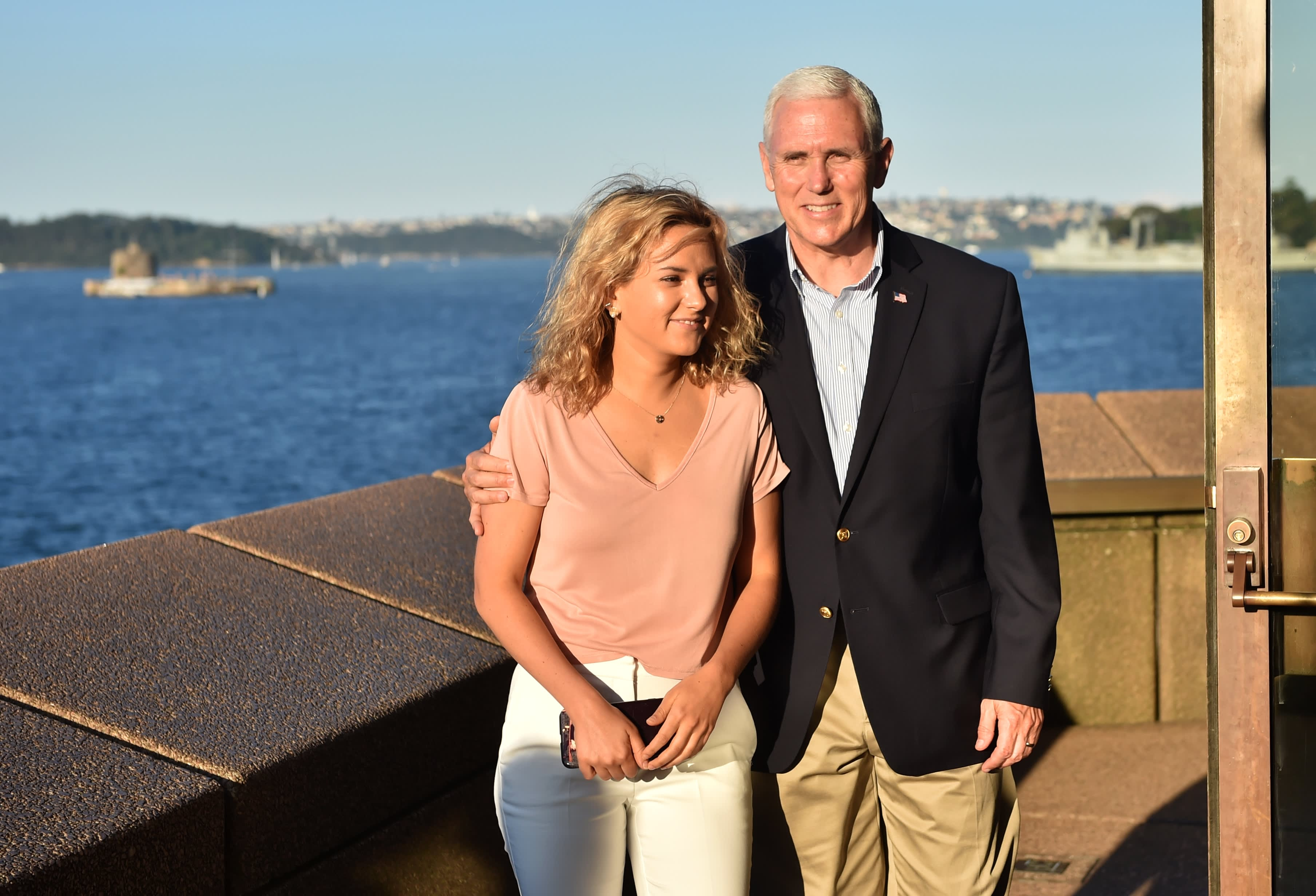 Vp Mike Pence S Daughter Charlotte On What Her Dad Taught Her