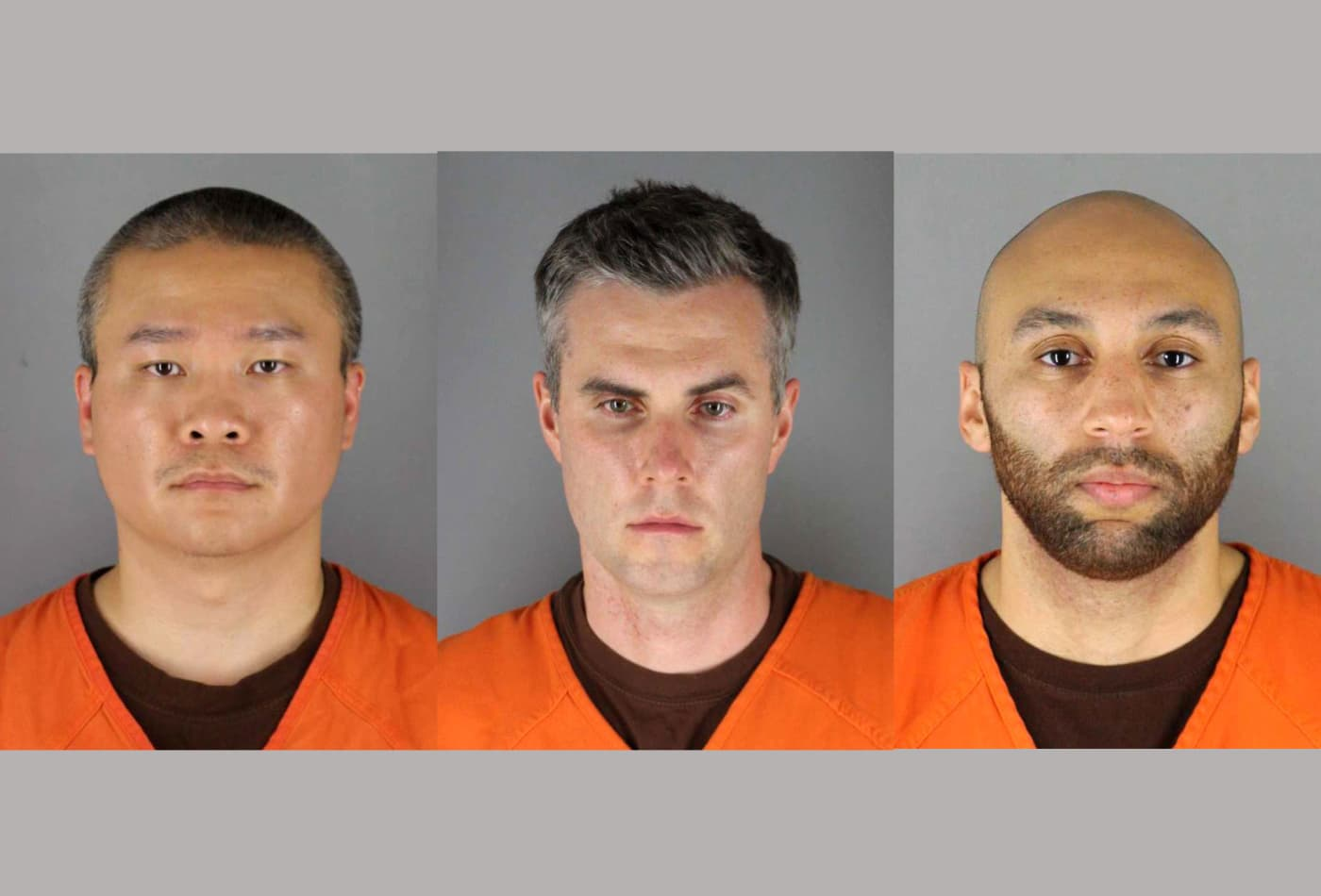 Bail set at up to $1 million for three ex-Minneapolis police officers charged with abetting alleged murder of George Floyd