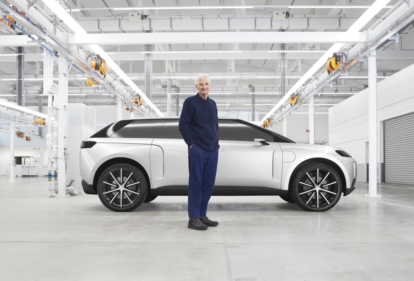 Dyson founder reveals scrapped electric SUV that cost him $600 million, was meant to be Tesla rival — take a look